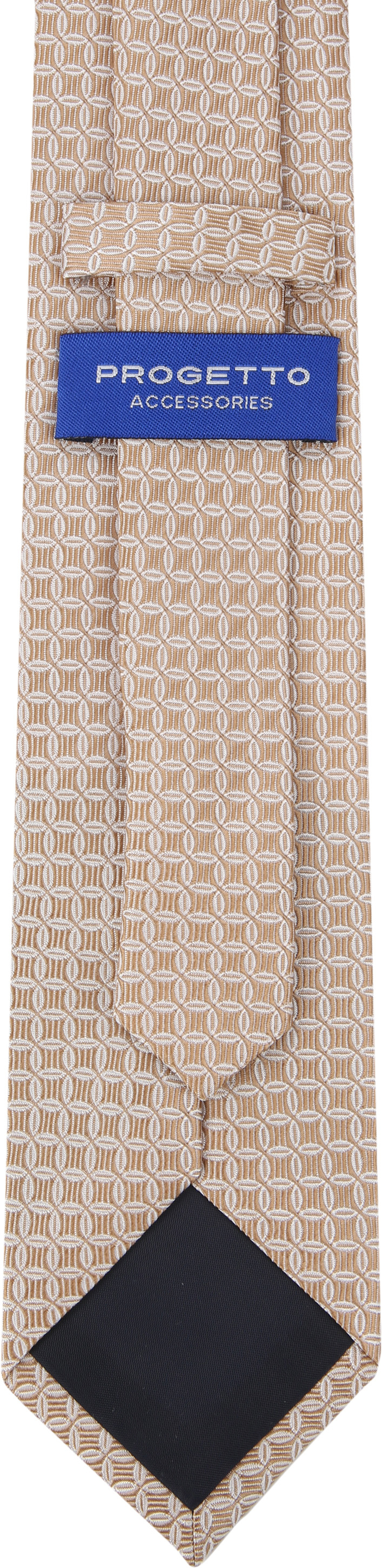 Suitable Krawatte Progetto Dessin Gold foto 2
