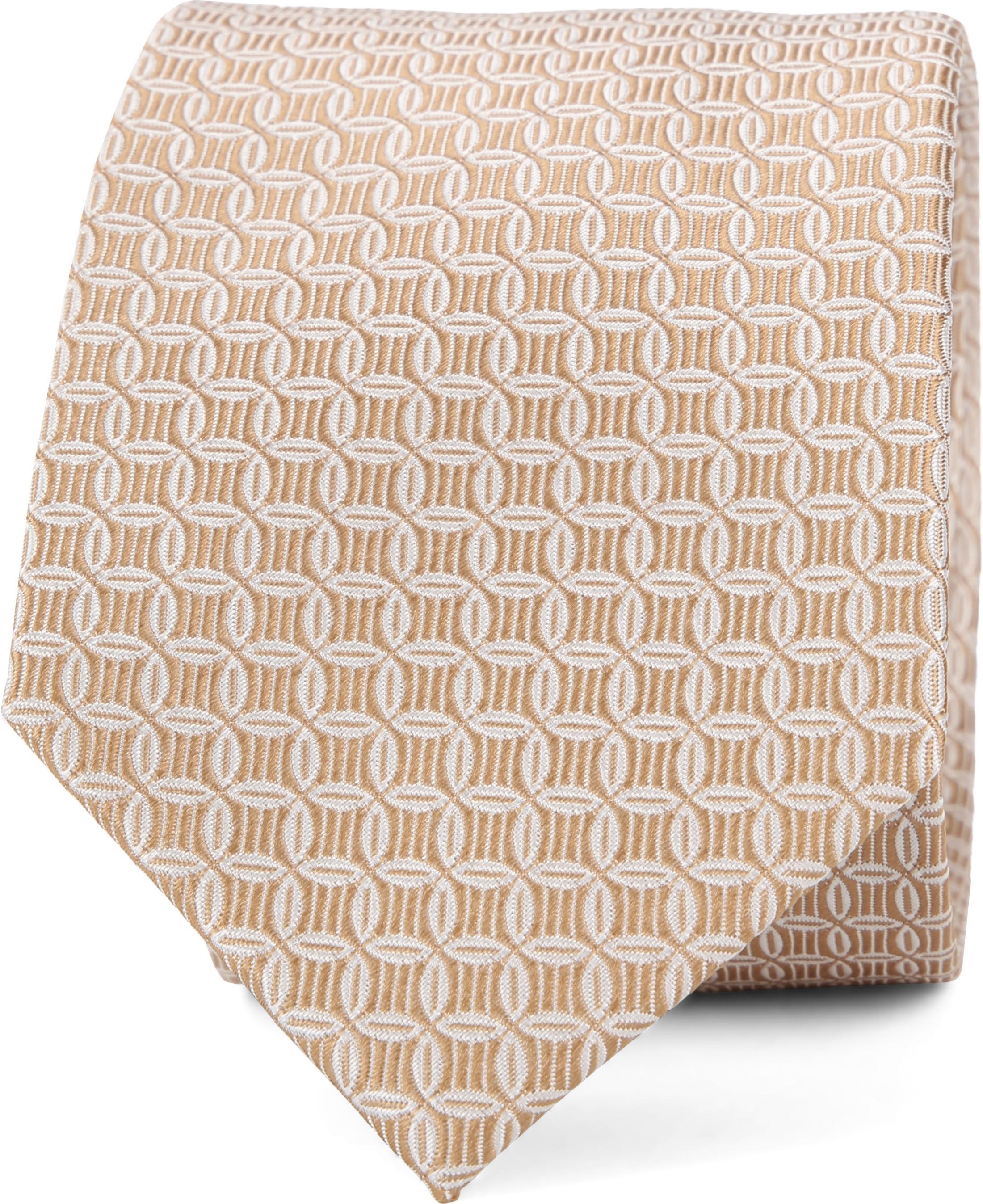 Suitable Krawatte Progetto Dessin Gold foto 0