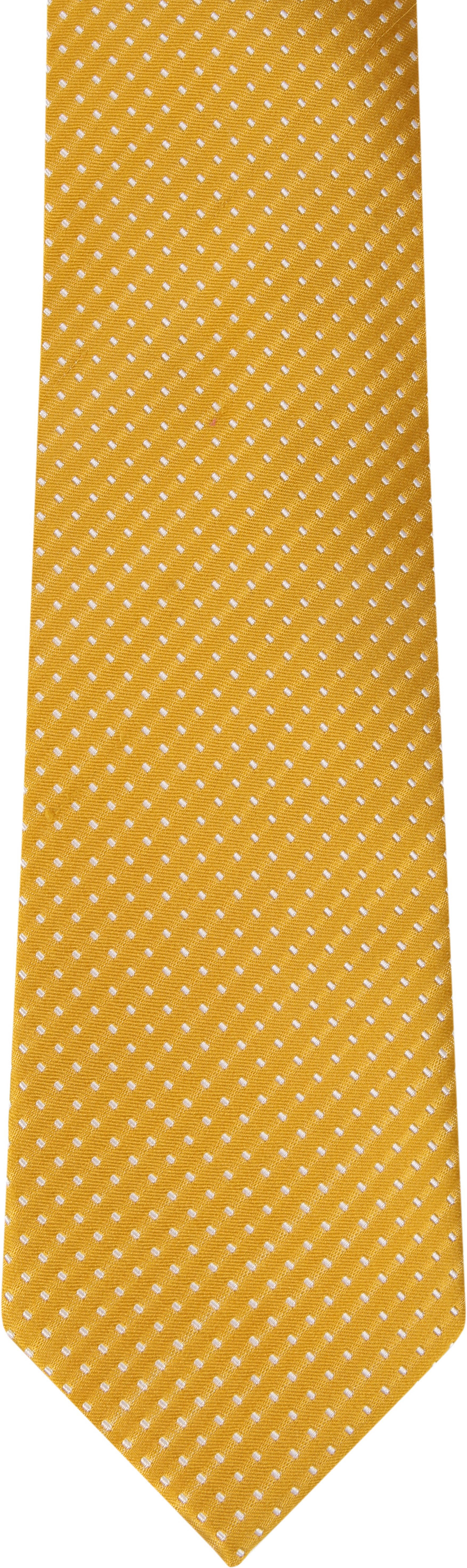 Suitable Krawatte Seide Gelb F91-4 foto 1