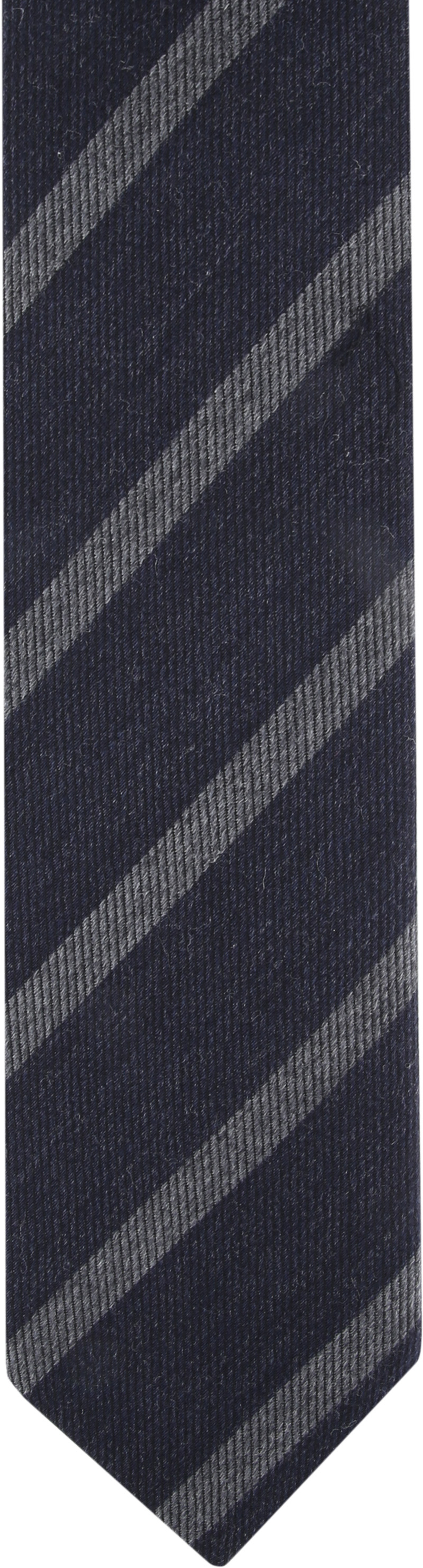 Suitable Krawatte Streifen Dunkelgrau Foto 1