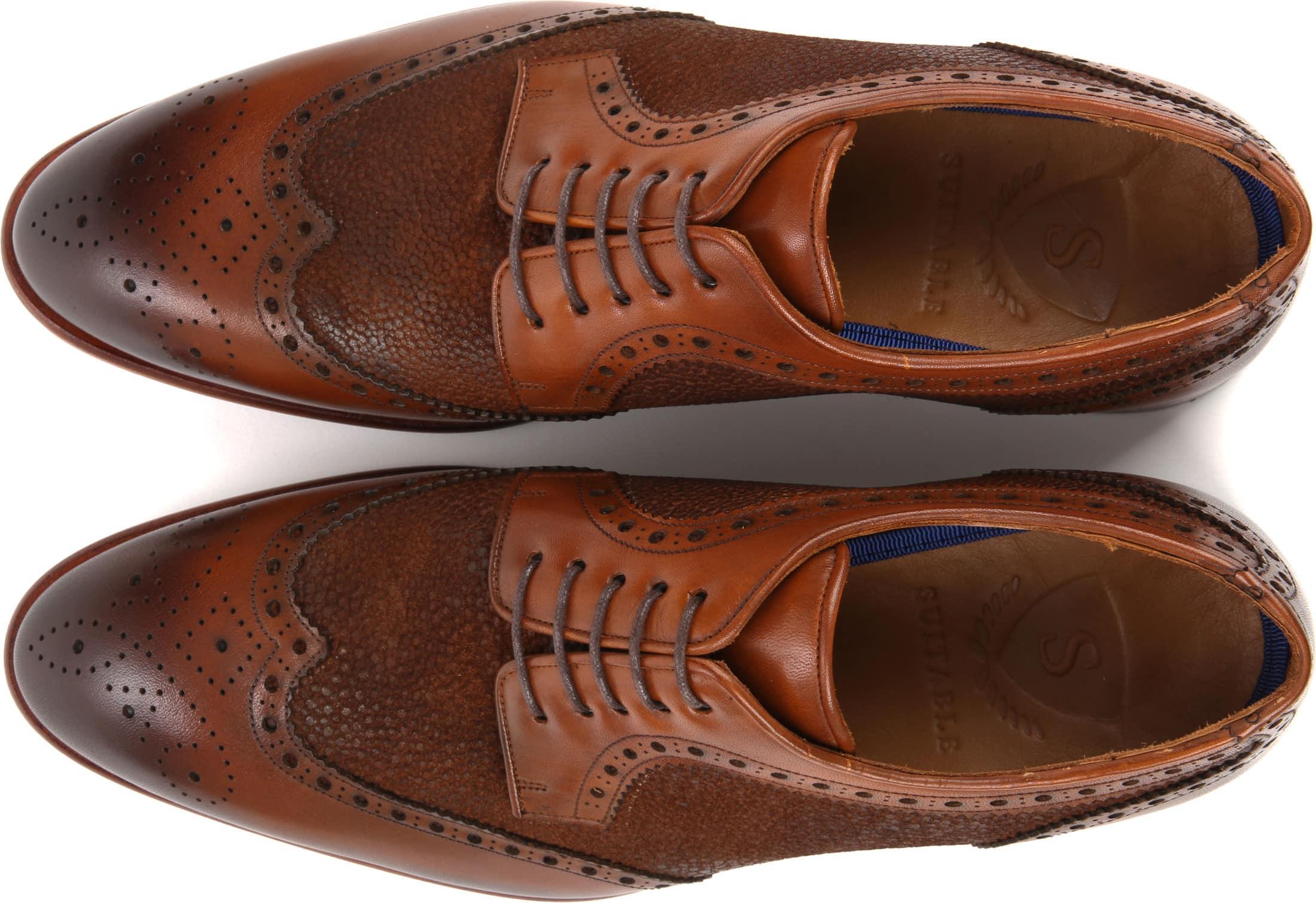 Suitable Leather Shoe Dessin Cognac foto 2