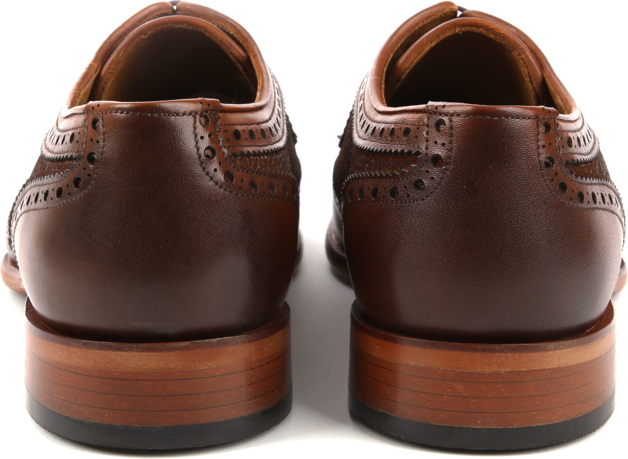 Suitable Leather Shoe Dessin Cognac foto 3