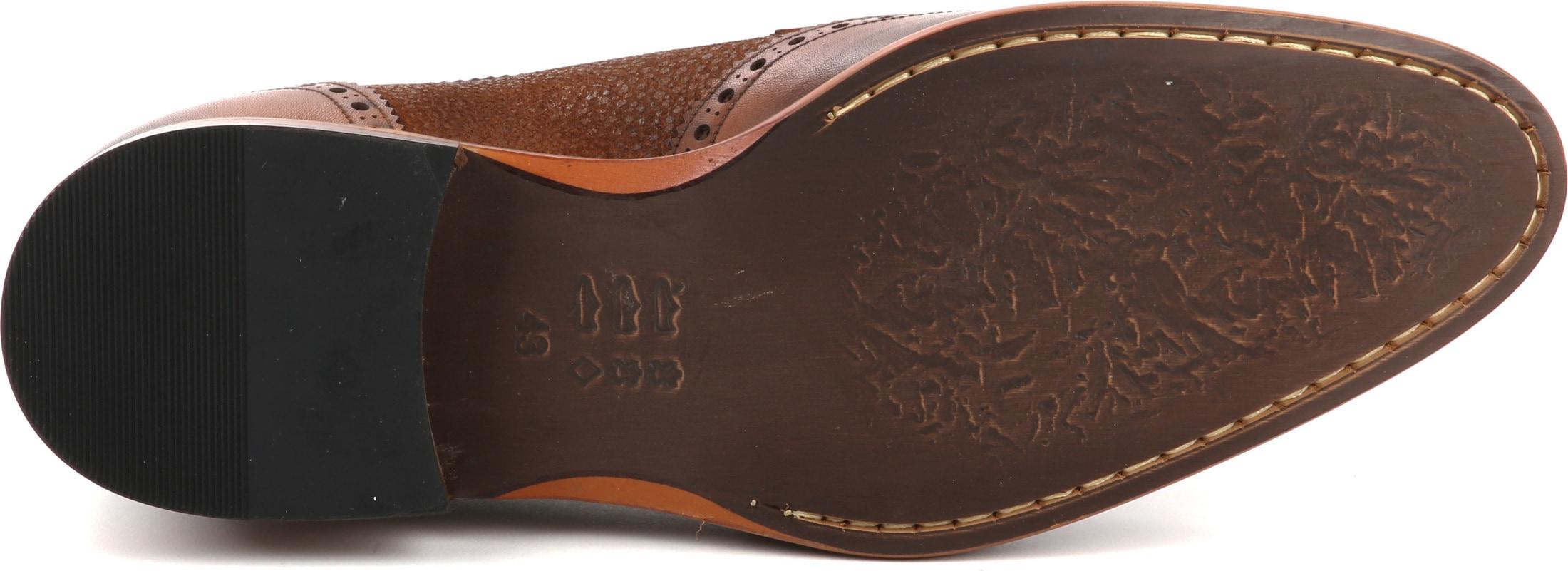 Suitable Leather Shoe Dessin Cognac foto 4