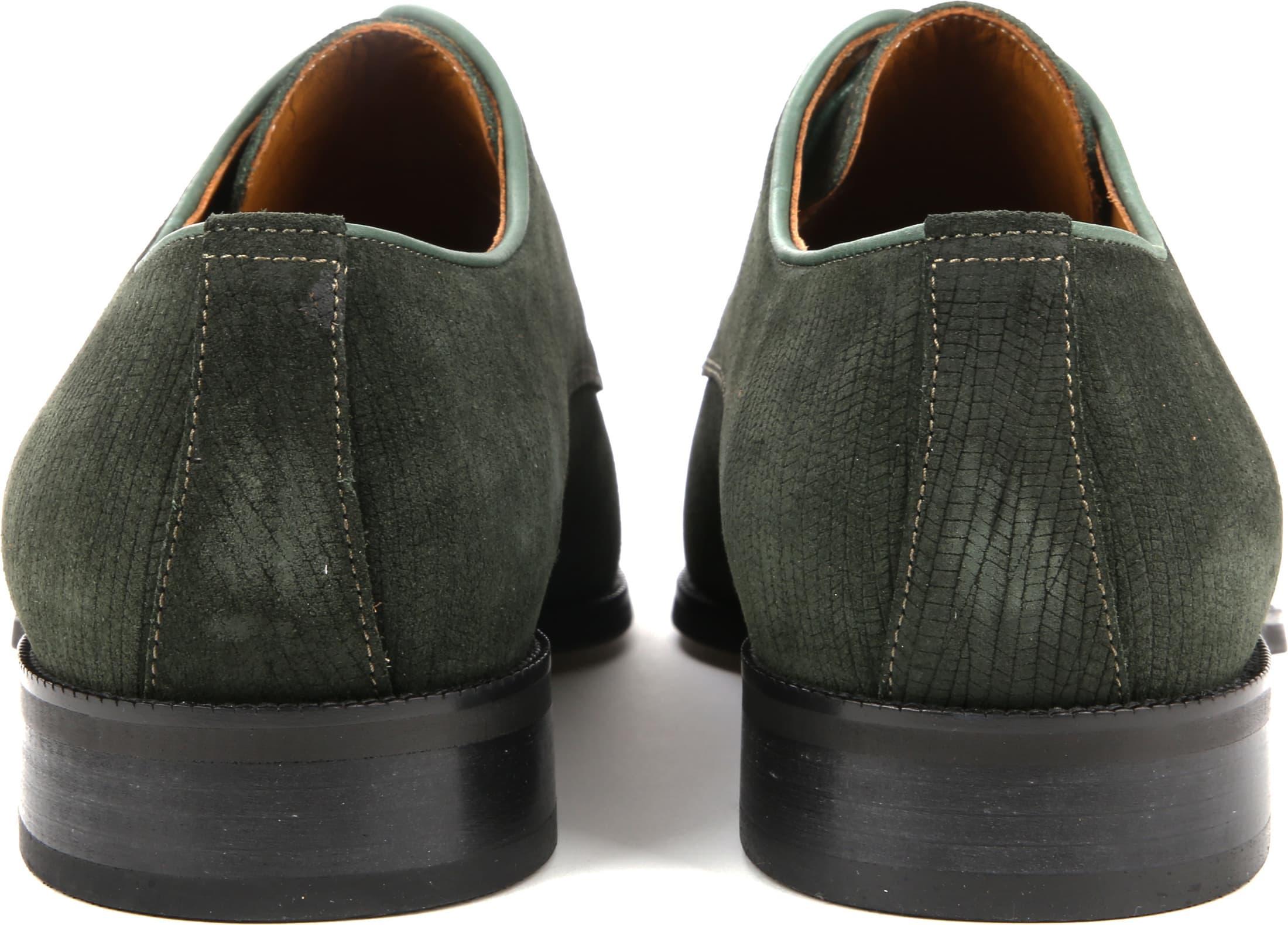 Suitable Leder Herrenschuhe Grün Foto 2