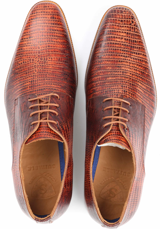 Suitable Leder Schuh Braun foto 2