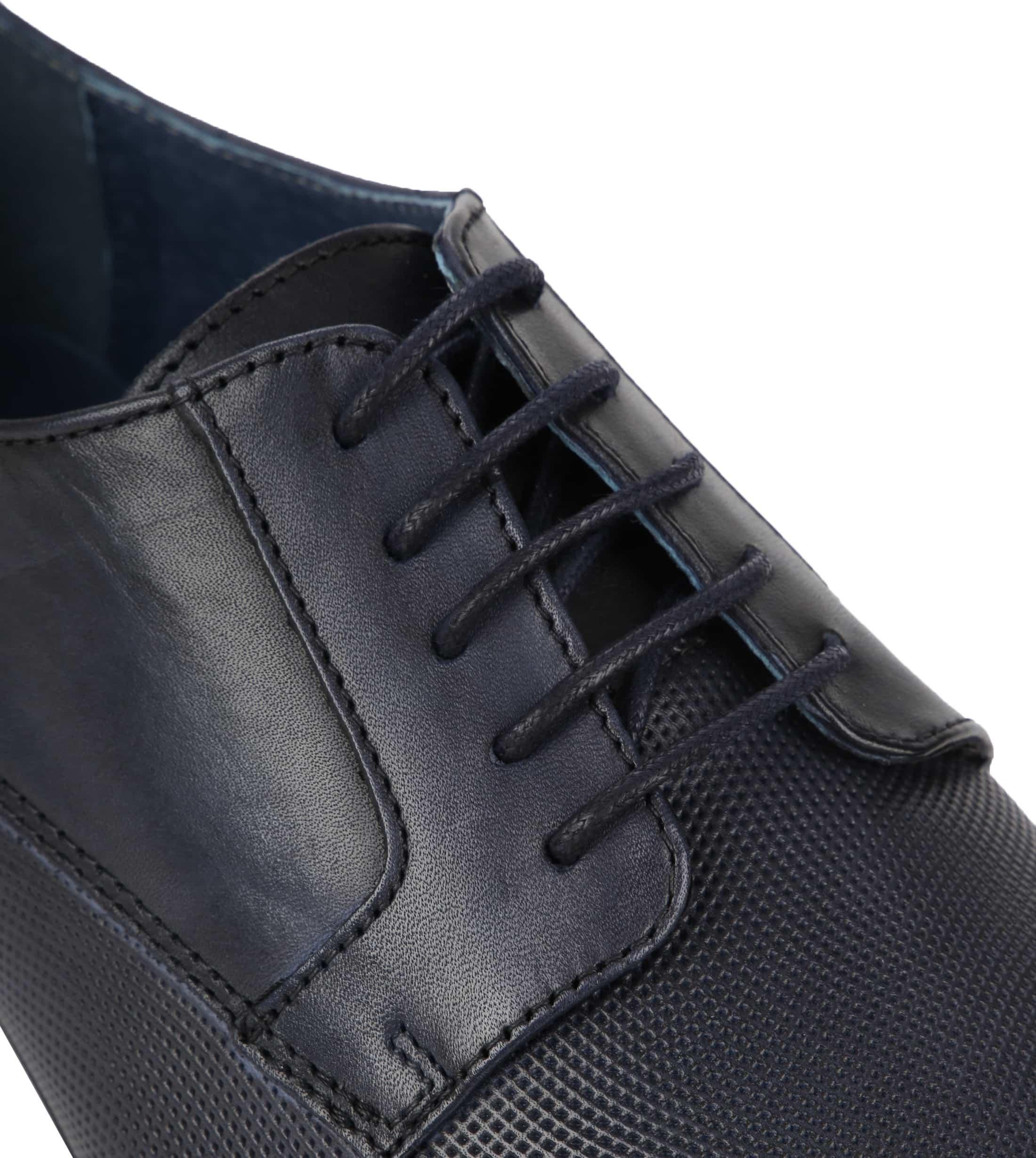 Suitable Leder Schuh Derby Navy Foto 1