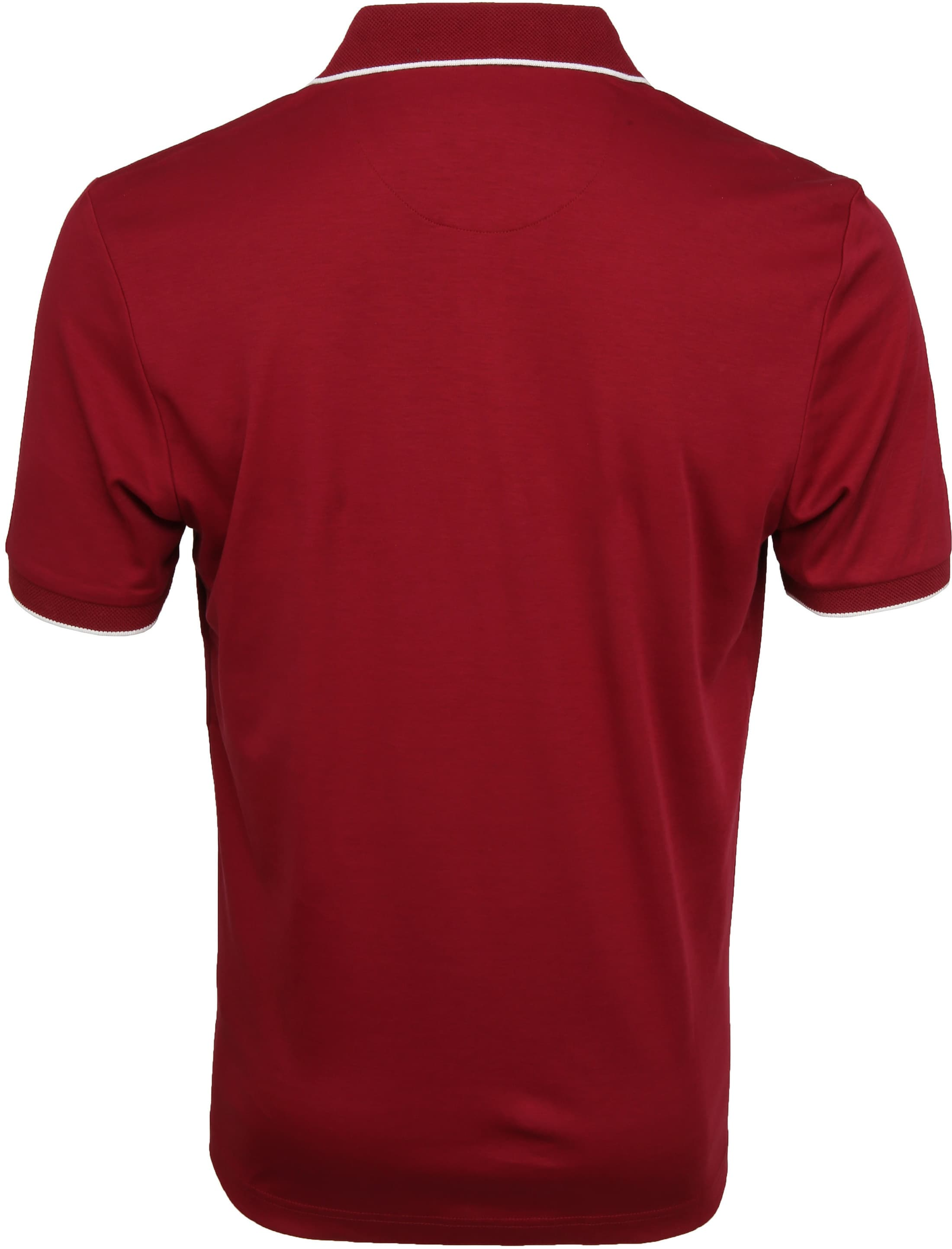 Suitable Liquid Poloshirt Burgundy foto 3