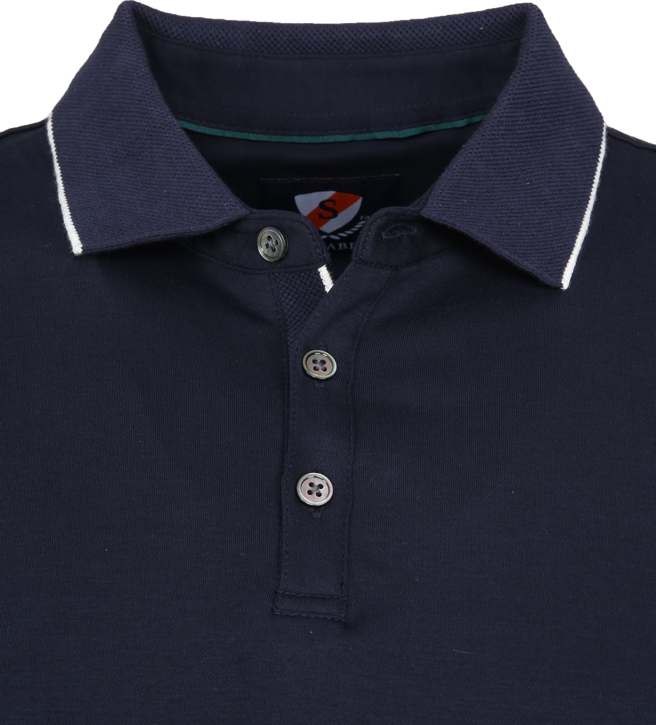 Suitable Liquid Poloshirt Navy foto 1
