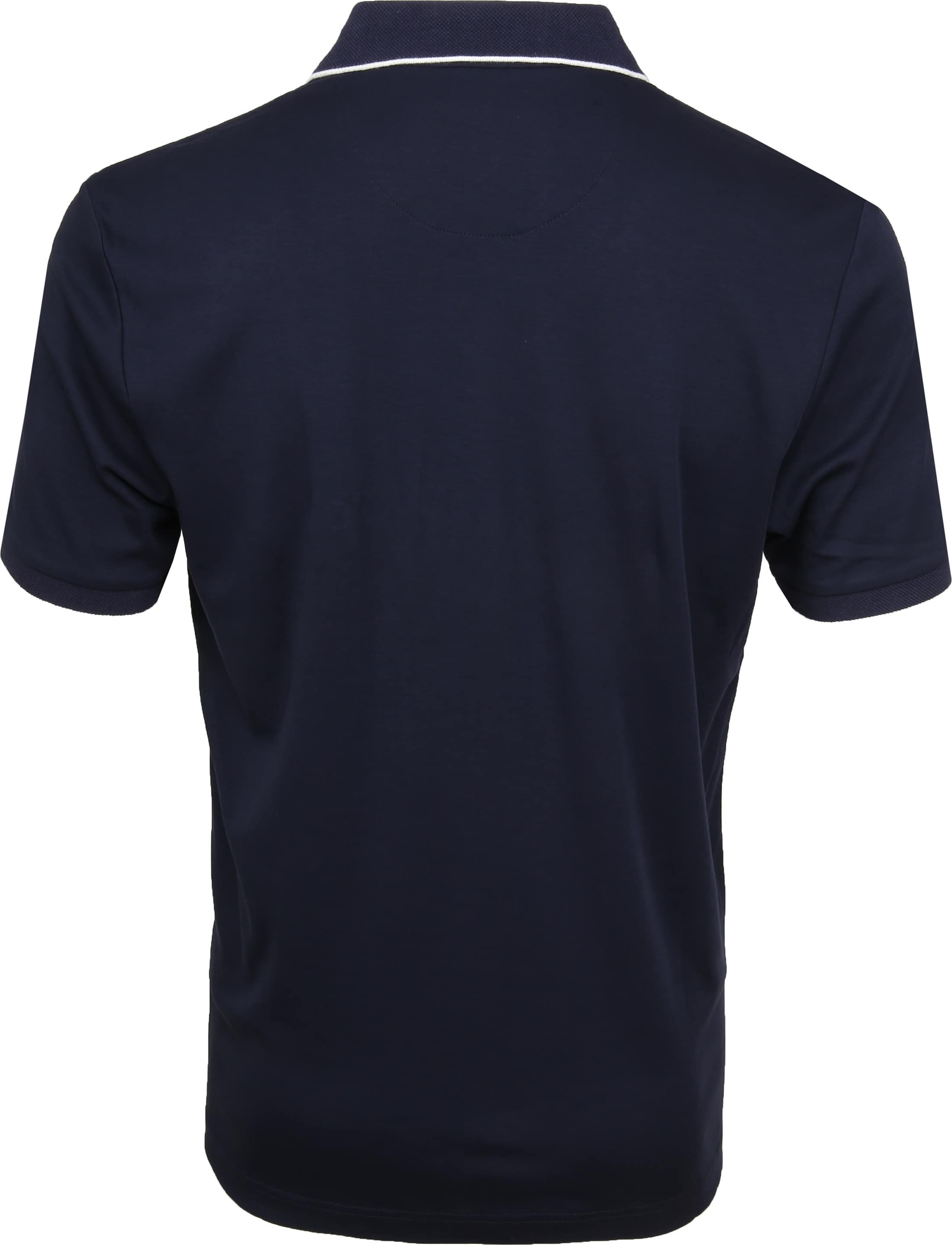 Suitable Liquid Poloshirt Navy foto 3