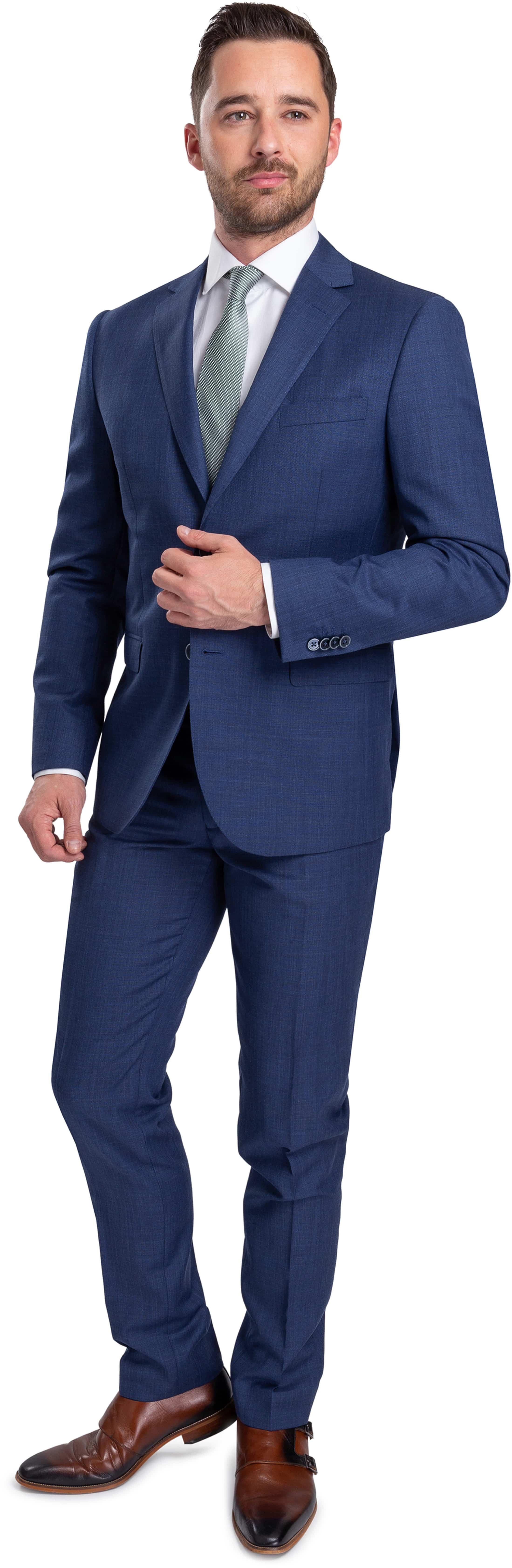 Suitable Lucius Suit Blue
