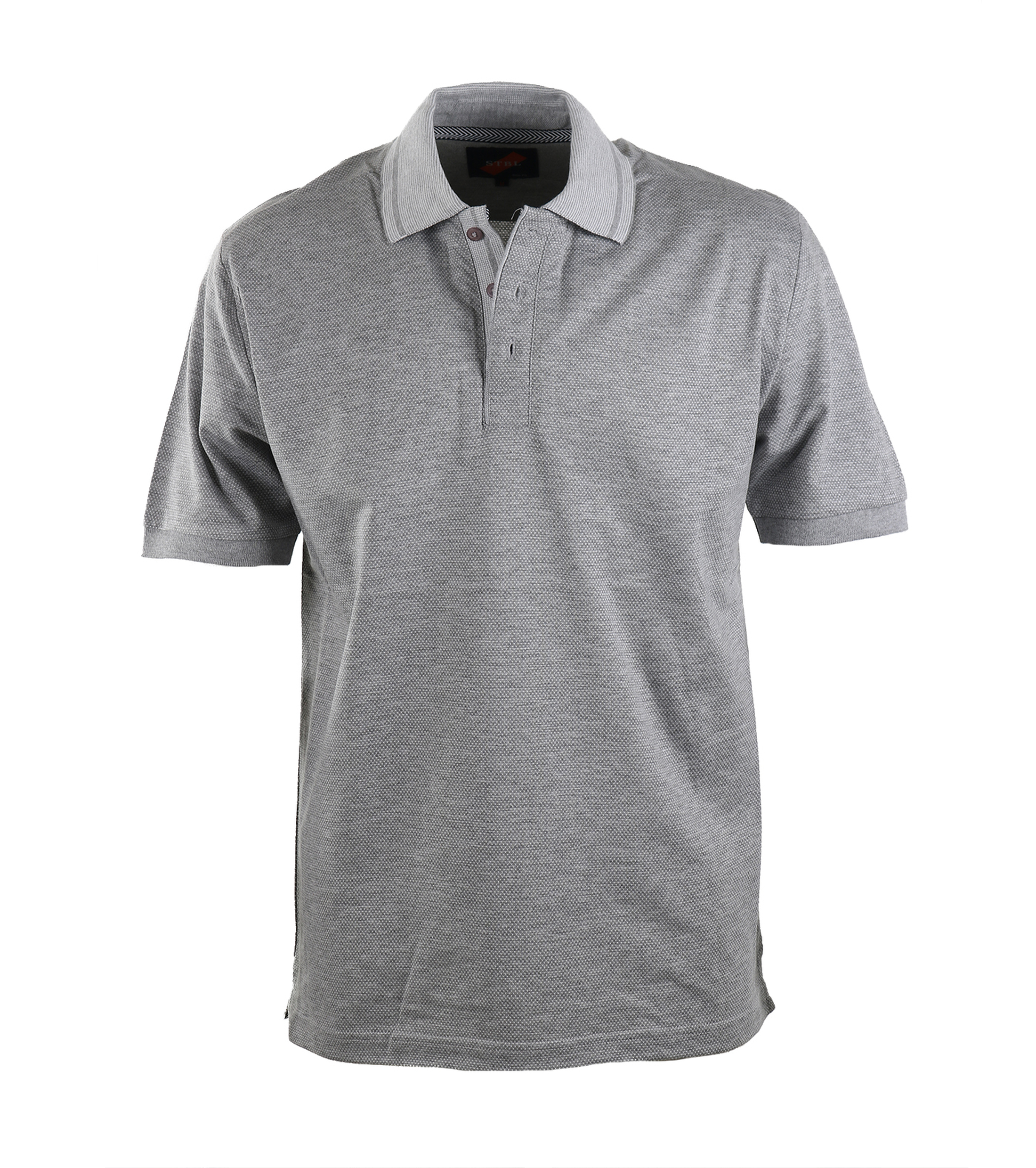 Suitable Luxe Polo Grey foto 0