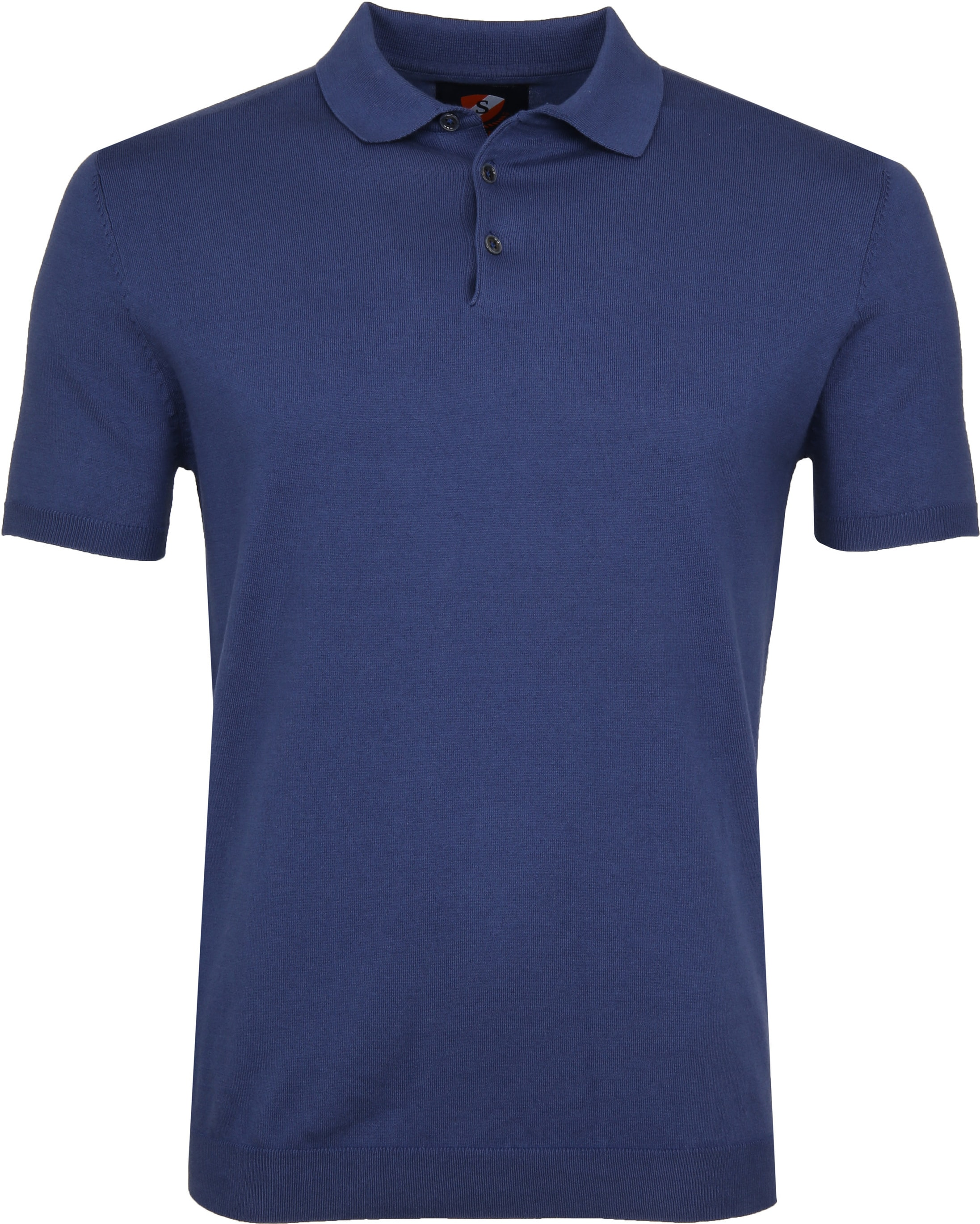 Suitable Mars Poloshirt Stretch Blue foto 0