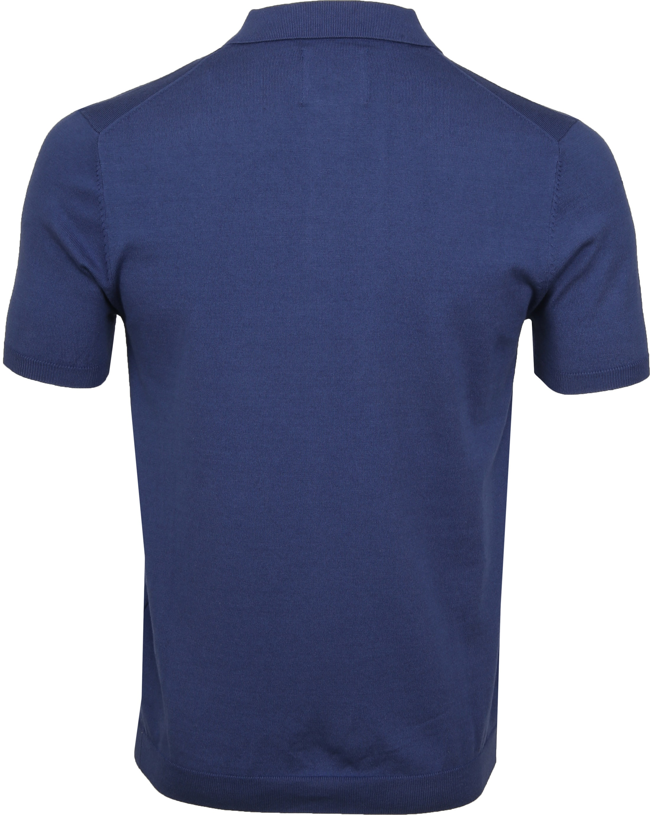 Suitable Mars Poloshirt Stretch Blue foto 3