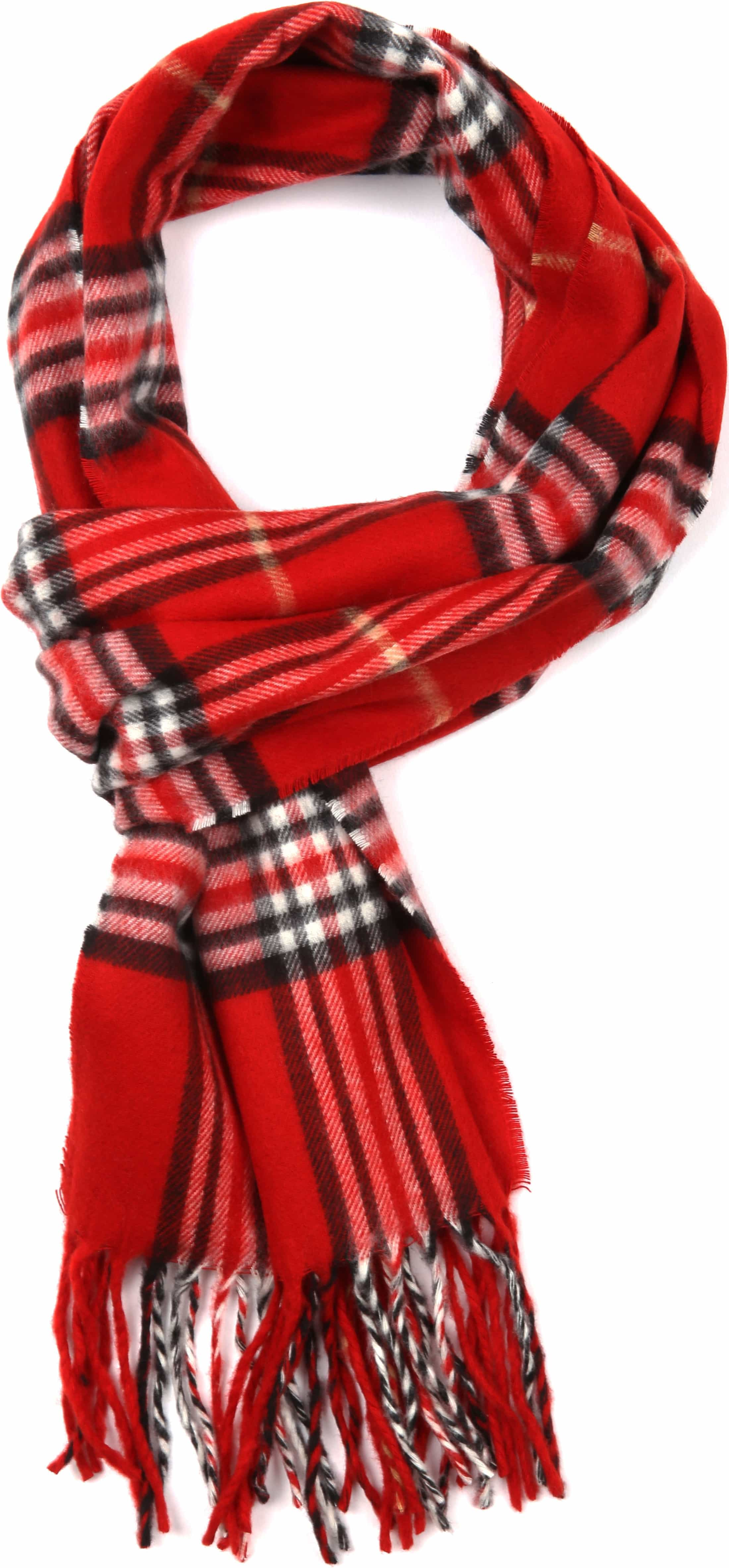 Suitable Men's Scarf Red 15-01