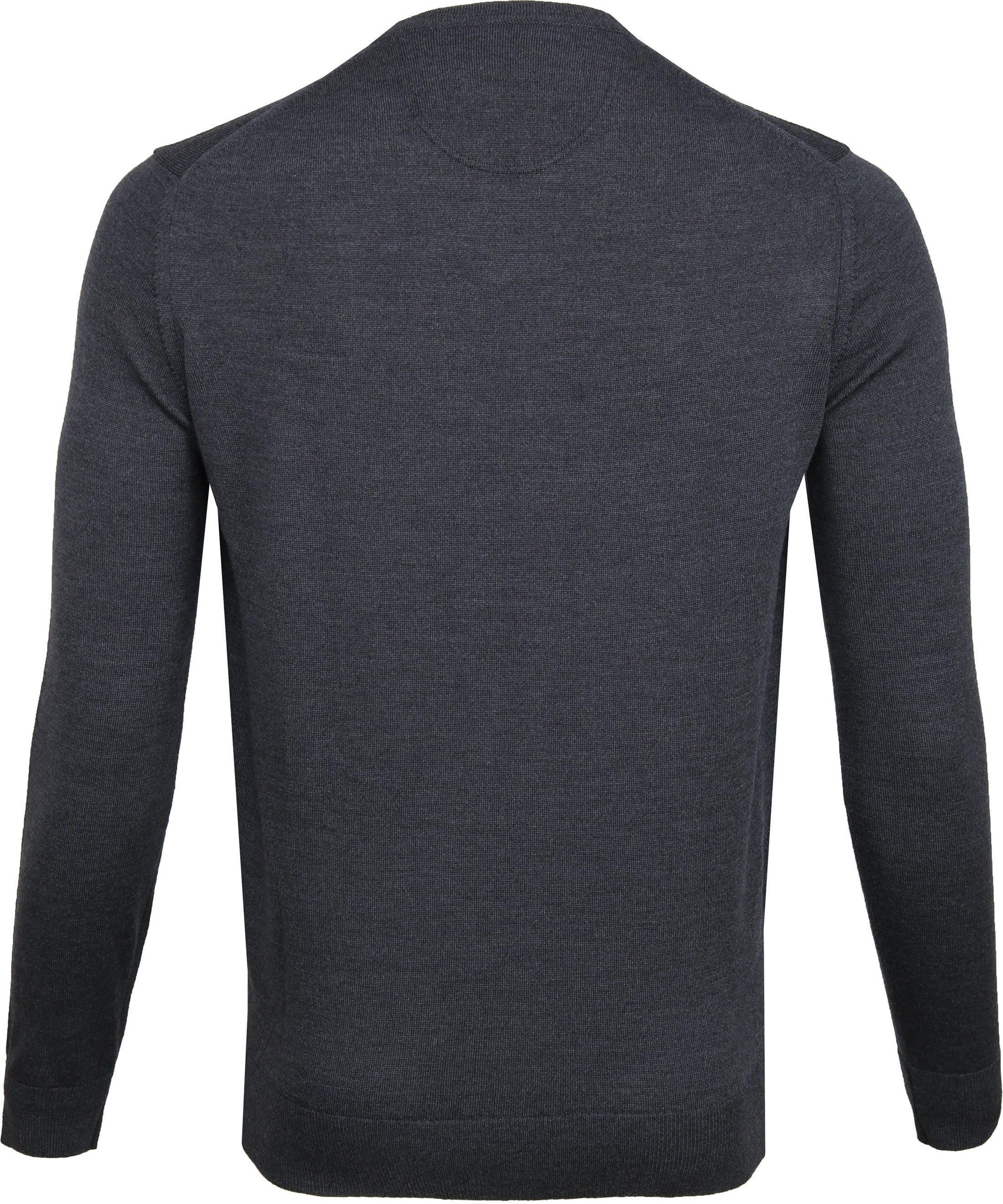 Suitable Merino Pullover Antraciet foto 3