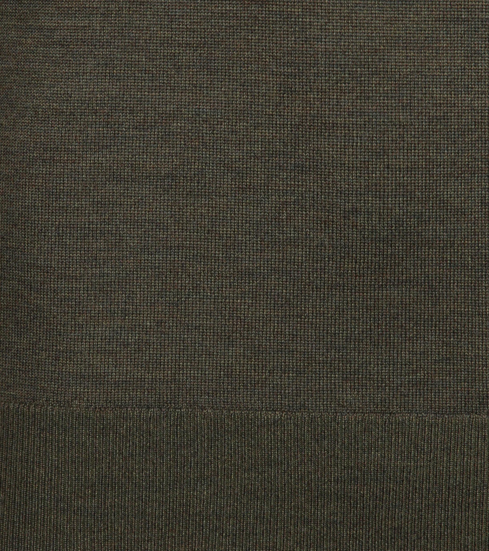 Suitable Merino Pullover Dark Green photo 2