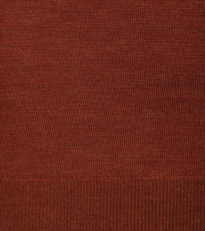 Suitable Merino Pullover R-Neck Caramel foto 2