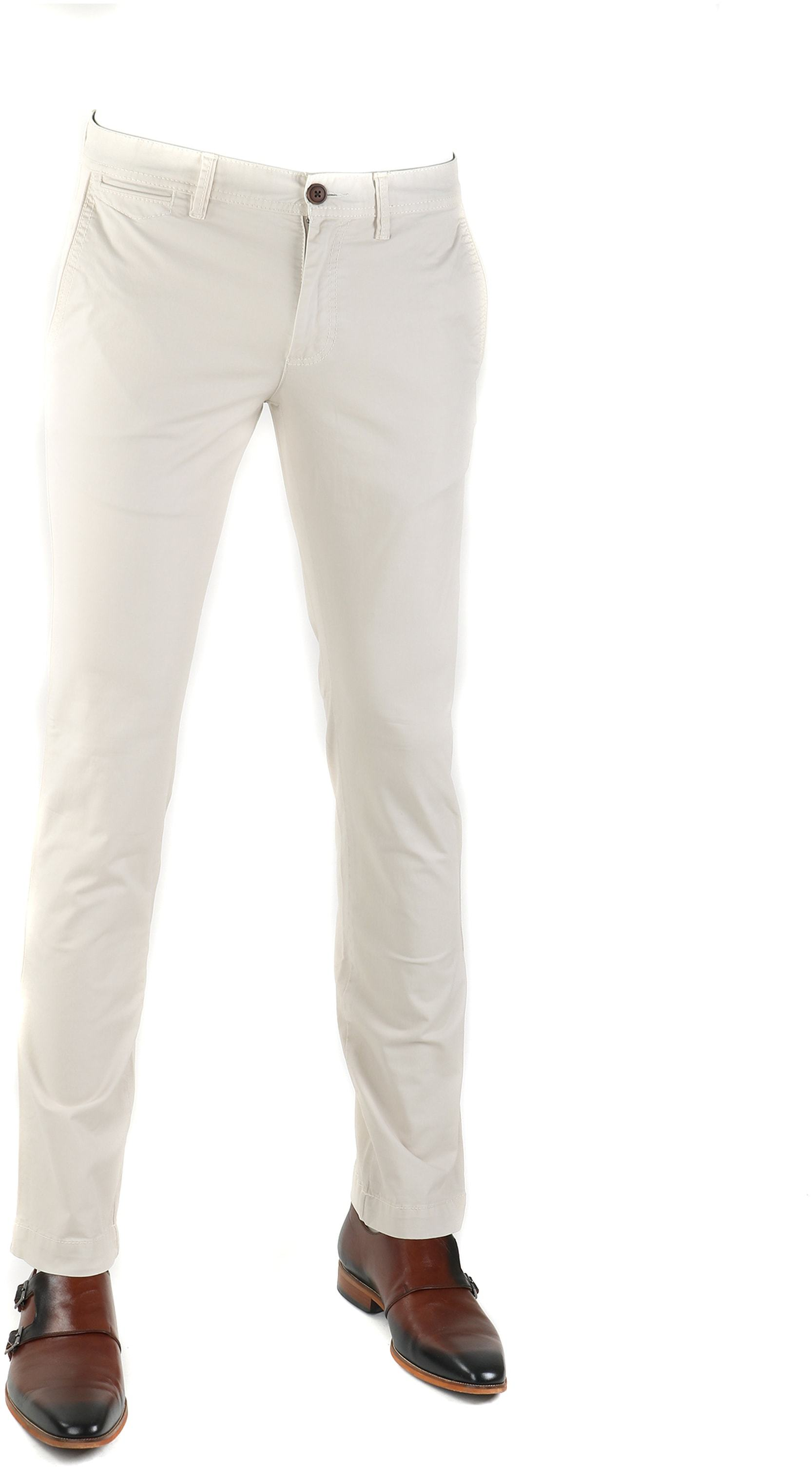 Suitable Oakville Chino Off White foto 0