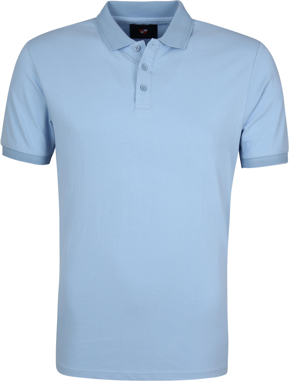 Suitable Oscar Polo Shirt Blue