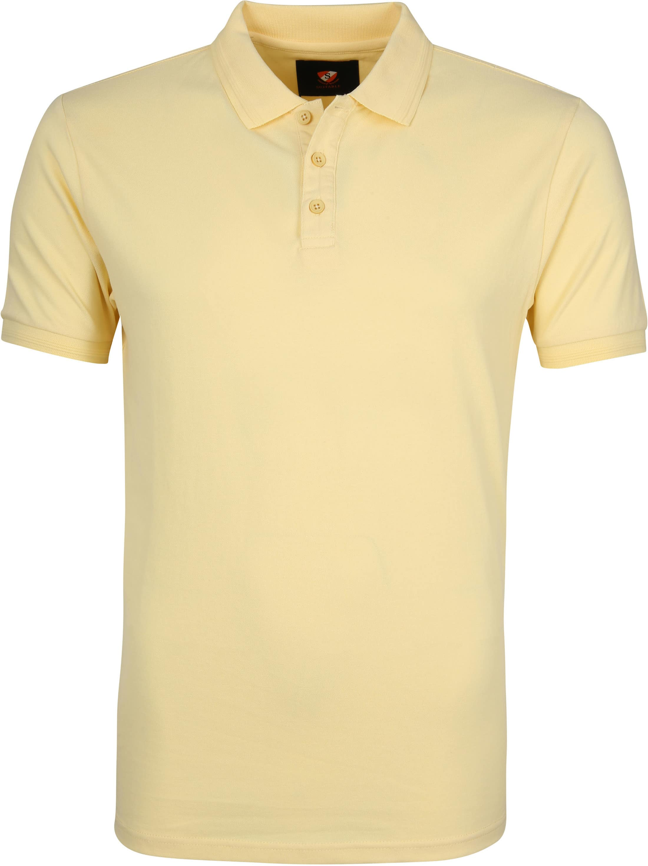 Suitable Oscar Polo Shirt Yellow