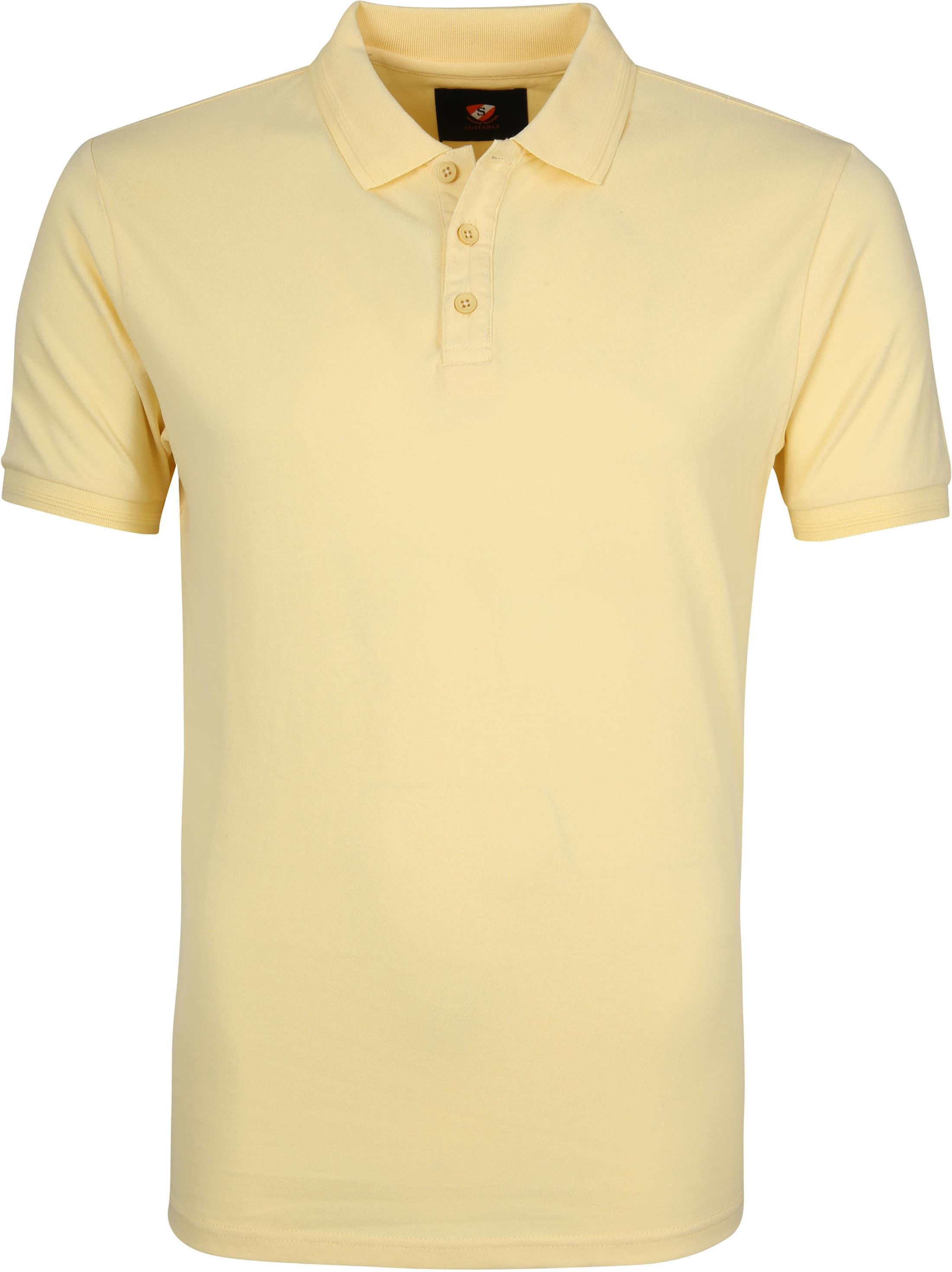 Suitable Oscar Poloshirt Gelb