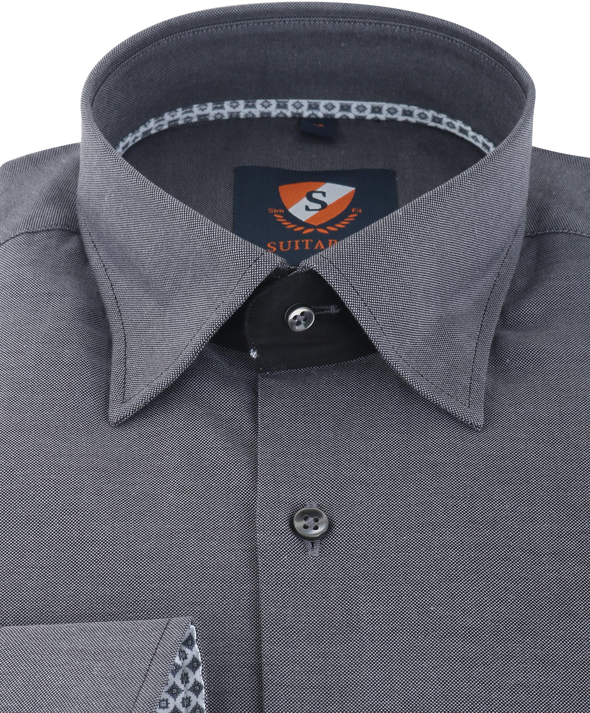 Suitable Overhemd Antraciet 141-7 foto 1
