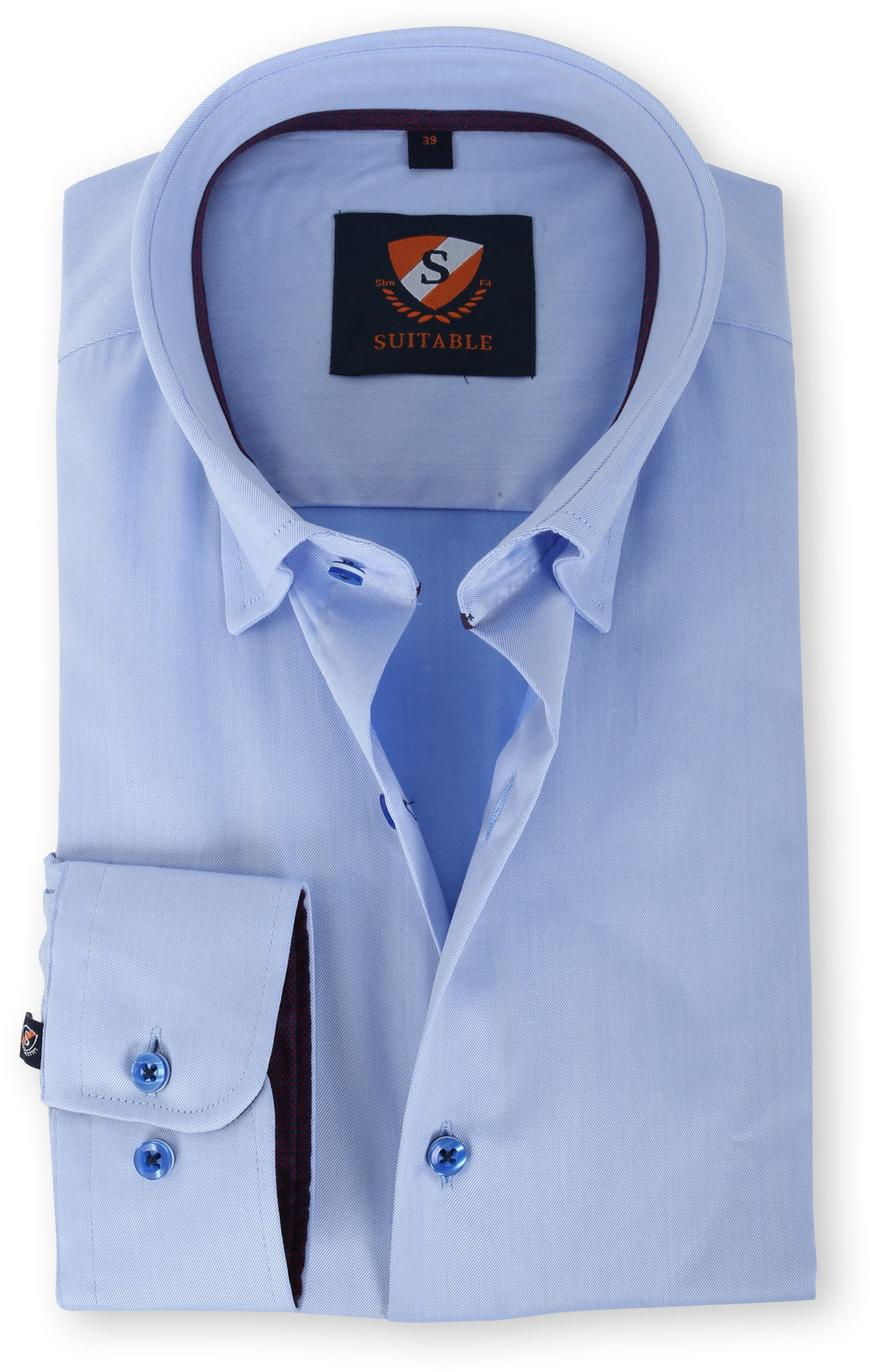 Suitable Overhemd Blauw 133-2 foto 0