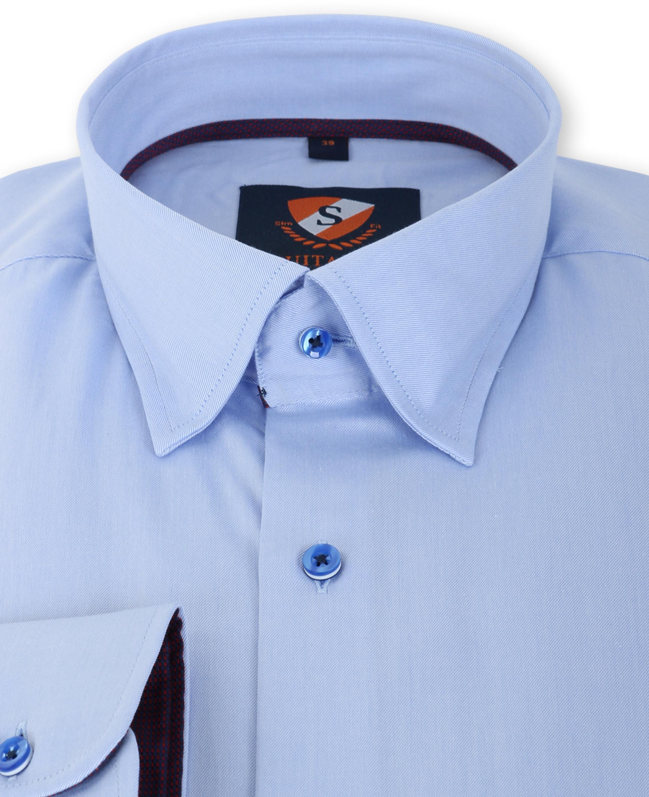 Suitable Overhemd Blauw 133-2 foto 1