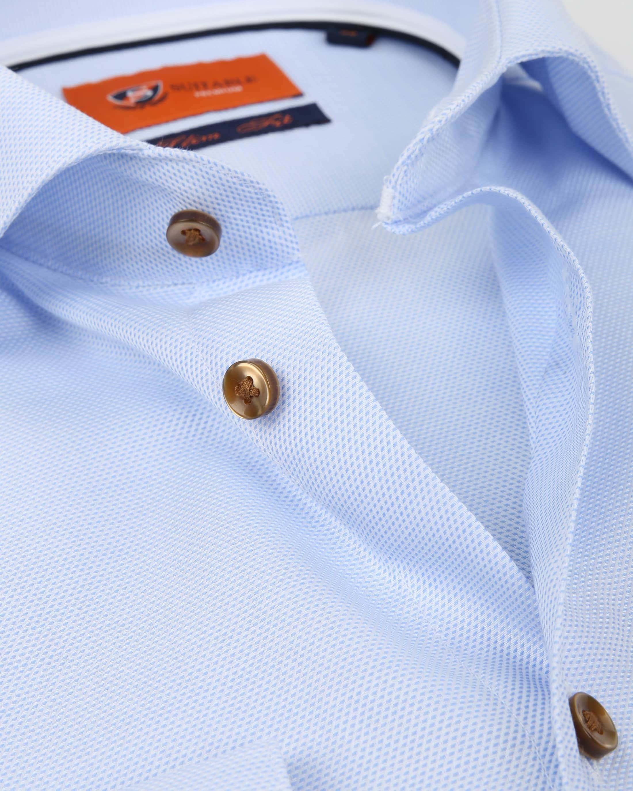Suitable Overhemd Blauw D81-09 foto 1