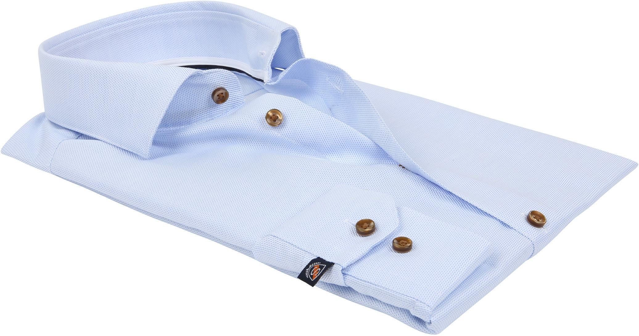 Suitable Overhemd Blauw D81-09 foto 3