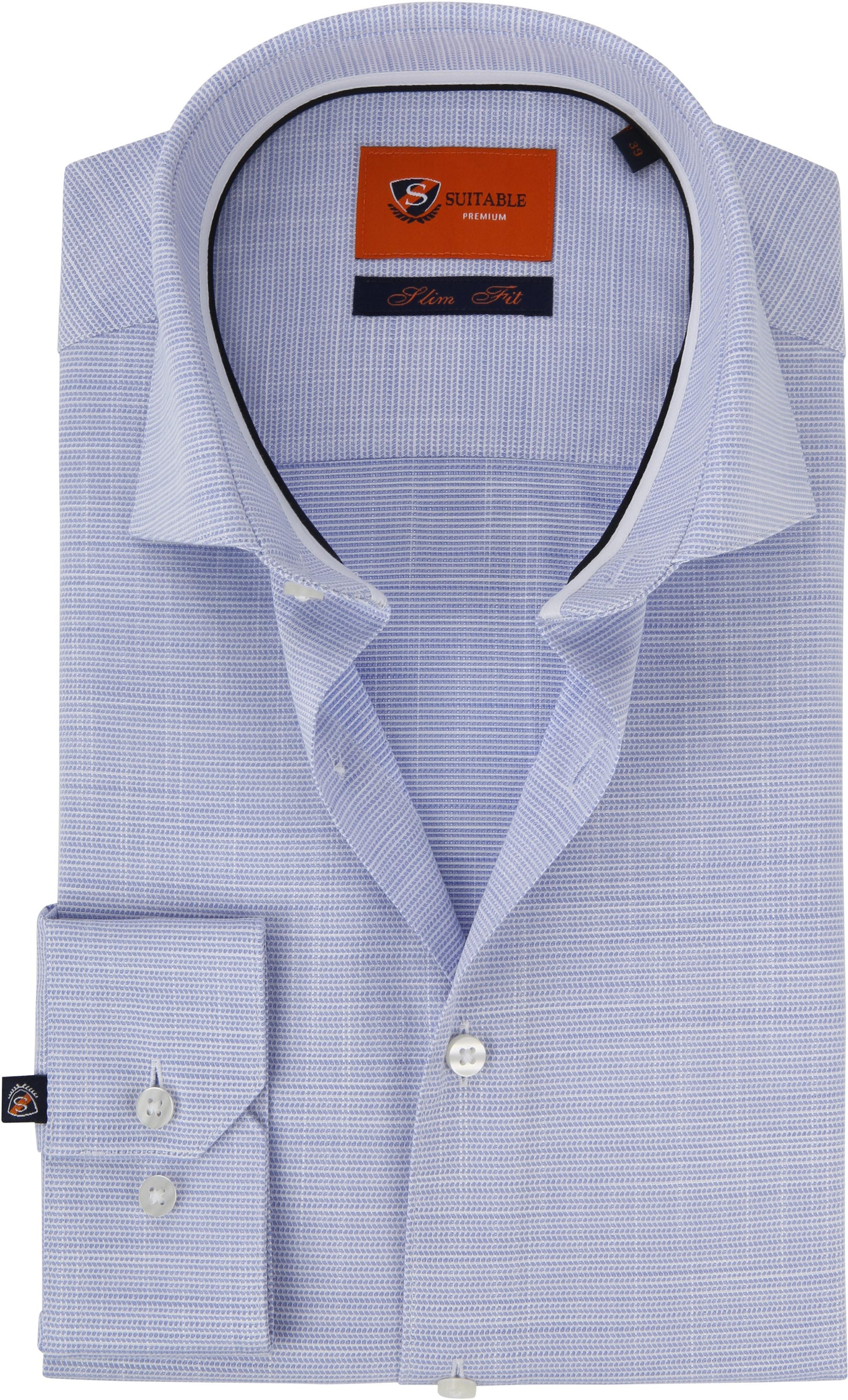 Suitable Overhemd Blauw WS foto 0