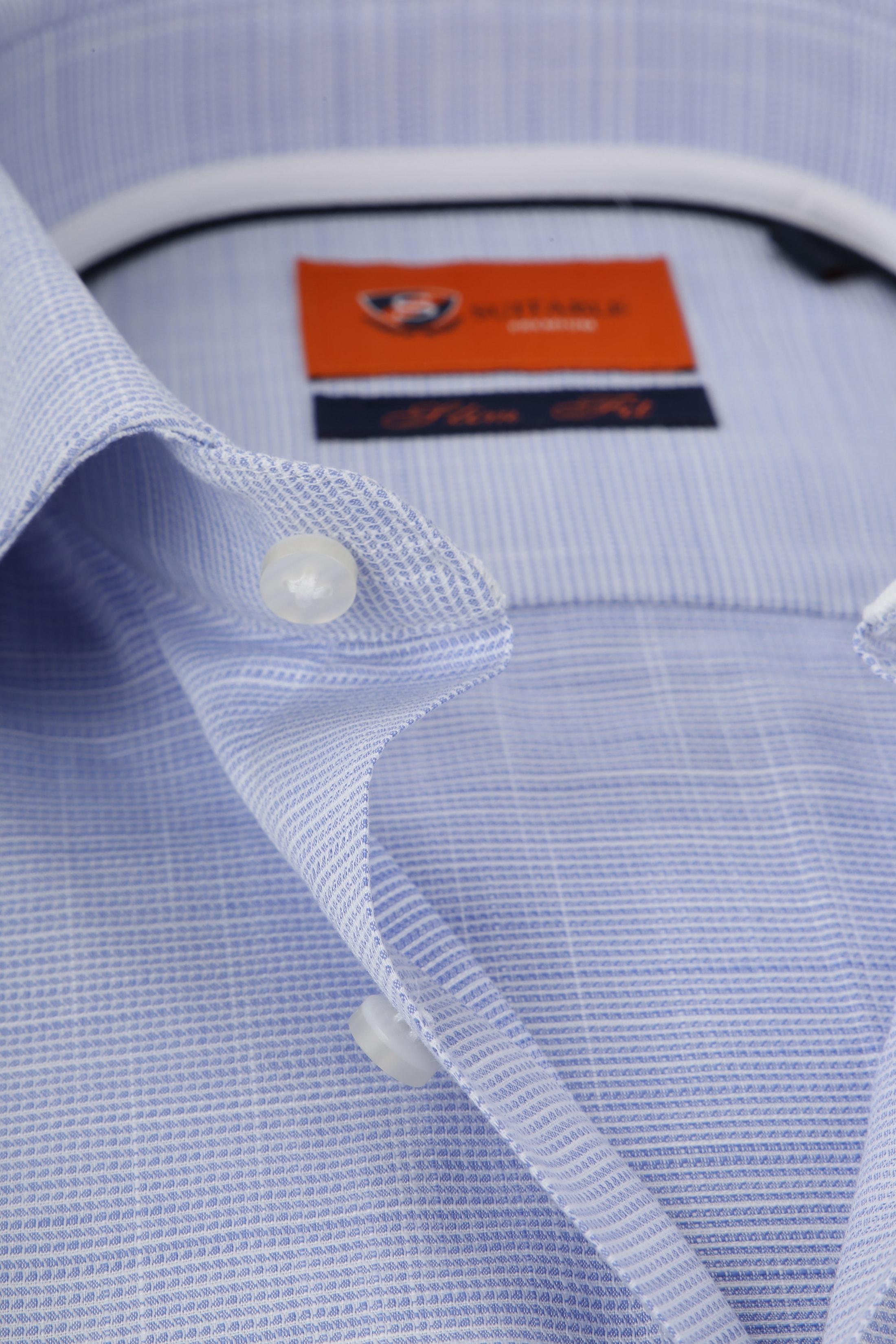 Suitable Overhemd Blauw WS foto 1