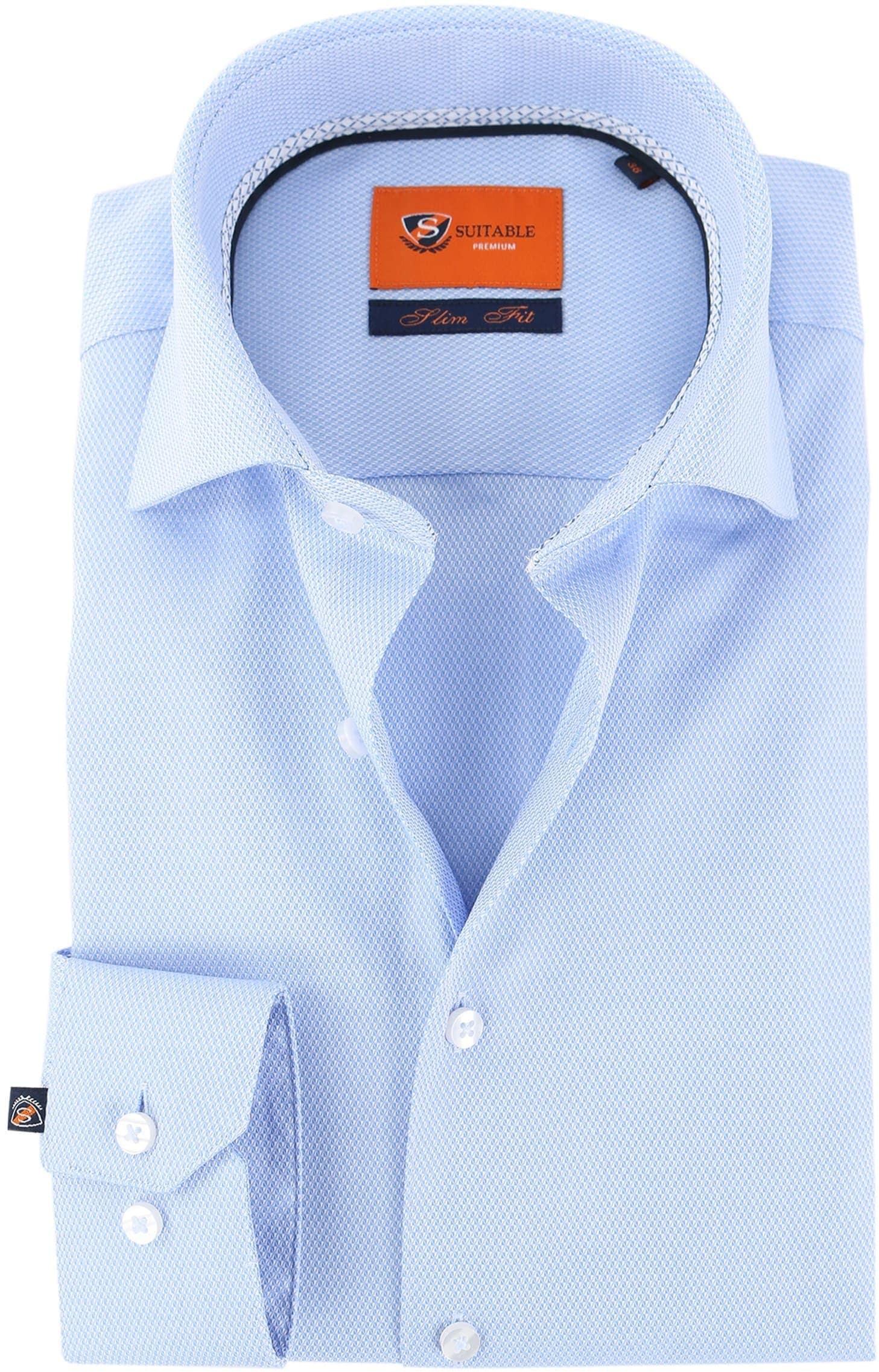 Suitable Overhemd Blue Dessin D71-16 foto 0