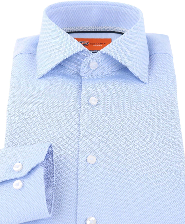 Suitable Overhemd Blue Dessin D71-16 foto 1
