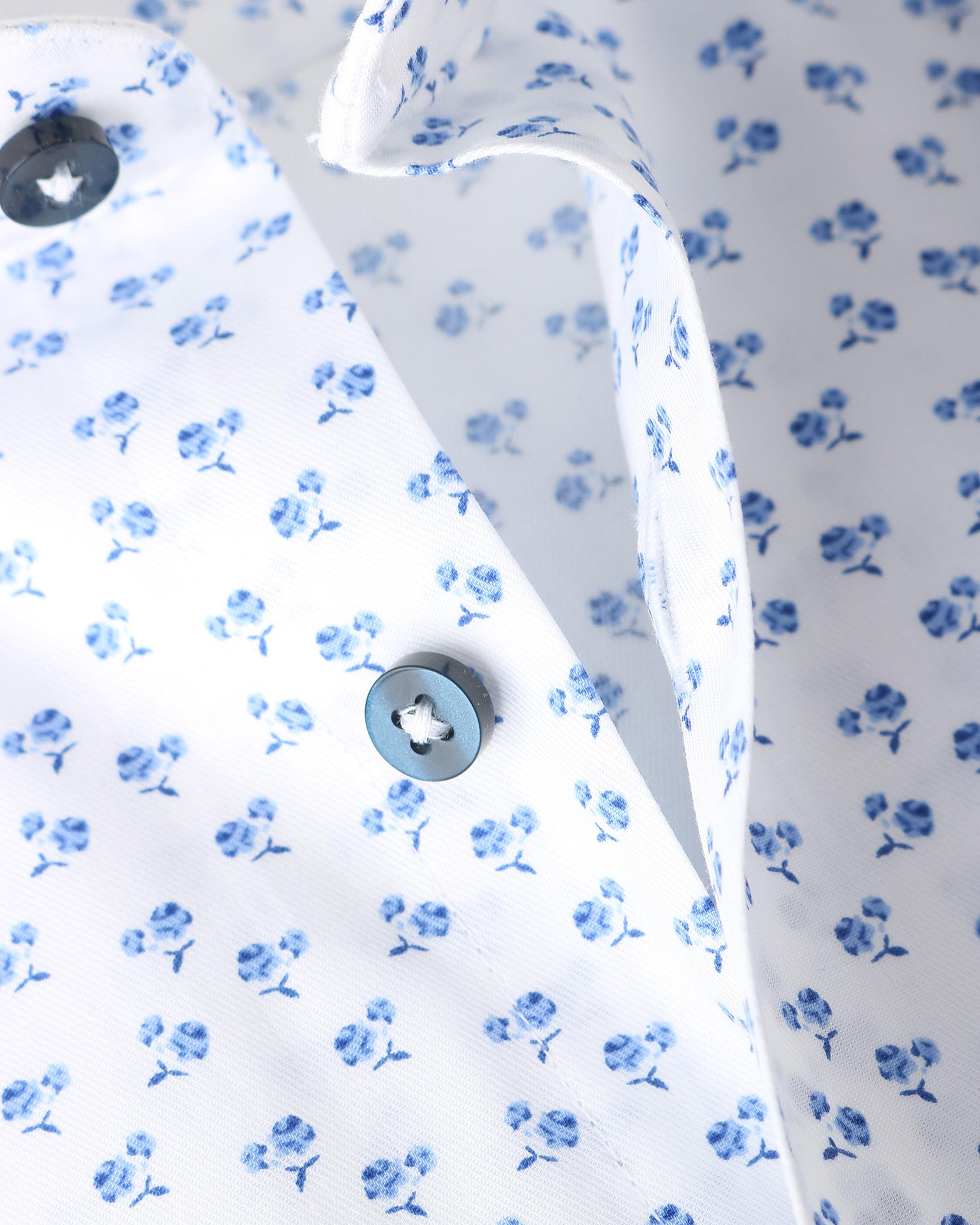 Suitable Overhemd Blue Flowers foto 1