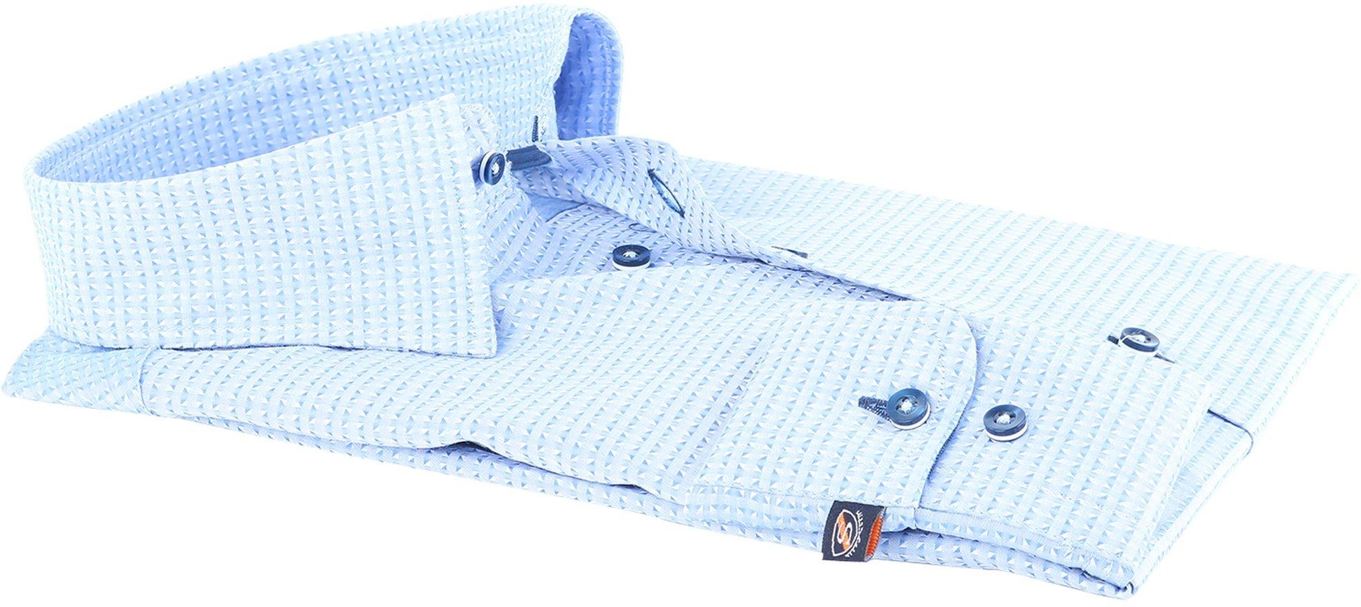 Suitable Overhemd Blue Jacquard 143-2 foto 1