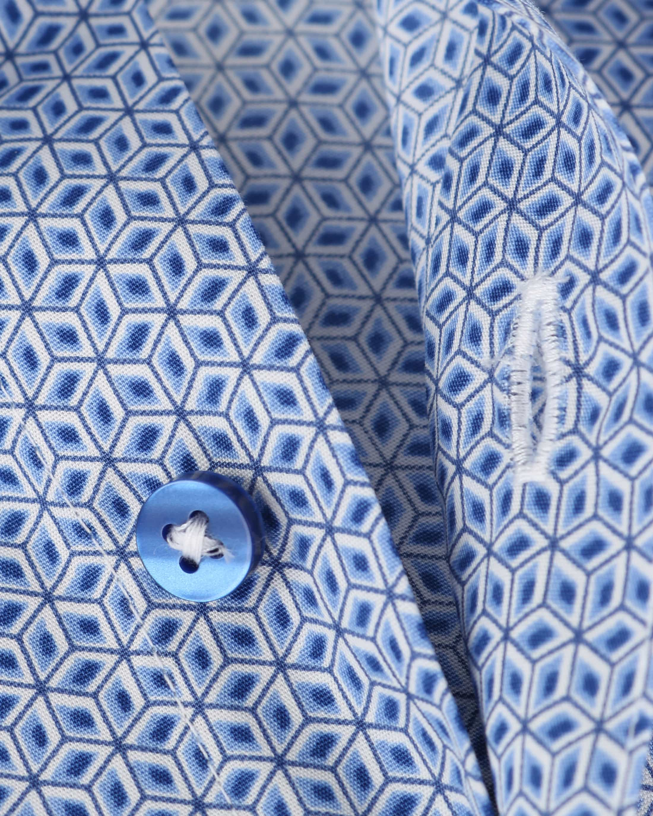 Suitable Overhemd Blue Print foto 3