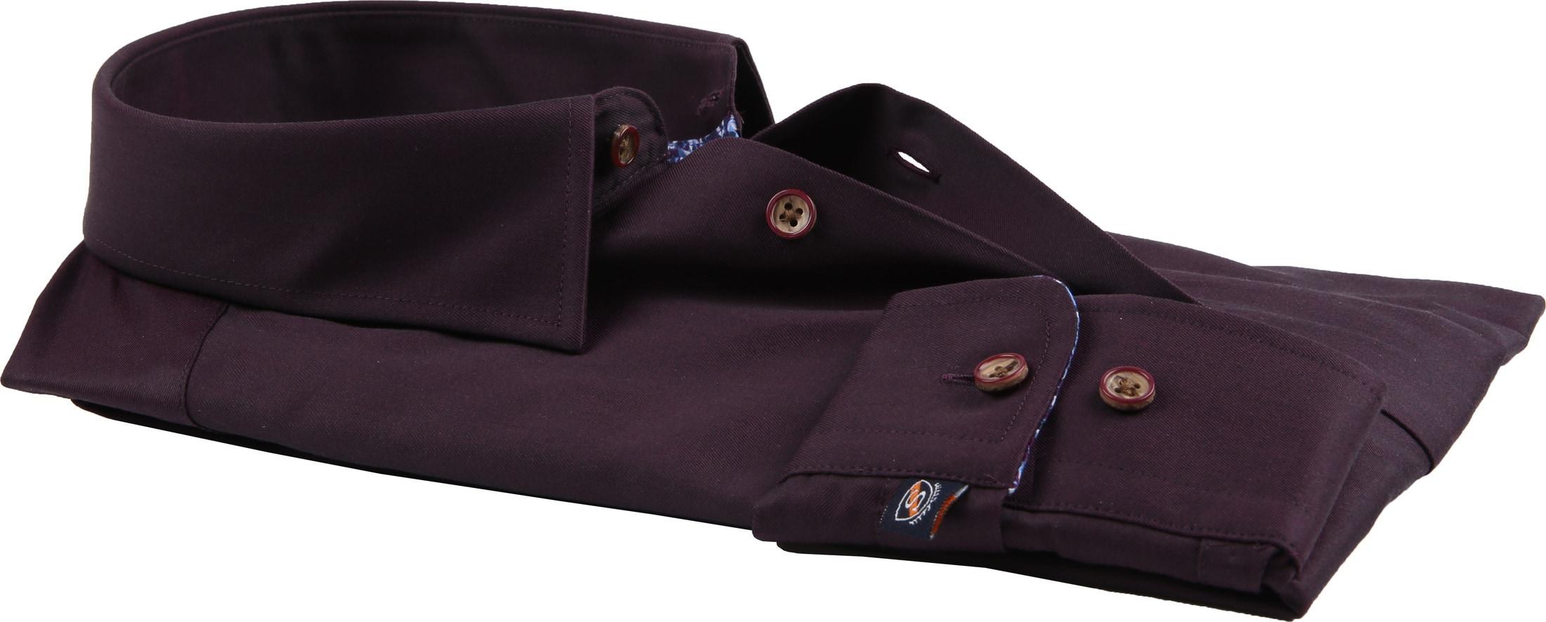 Suitable Overhemd Bordeaux 188-5 foto 3