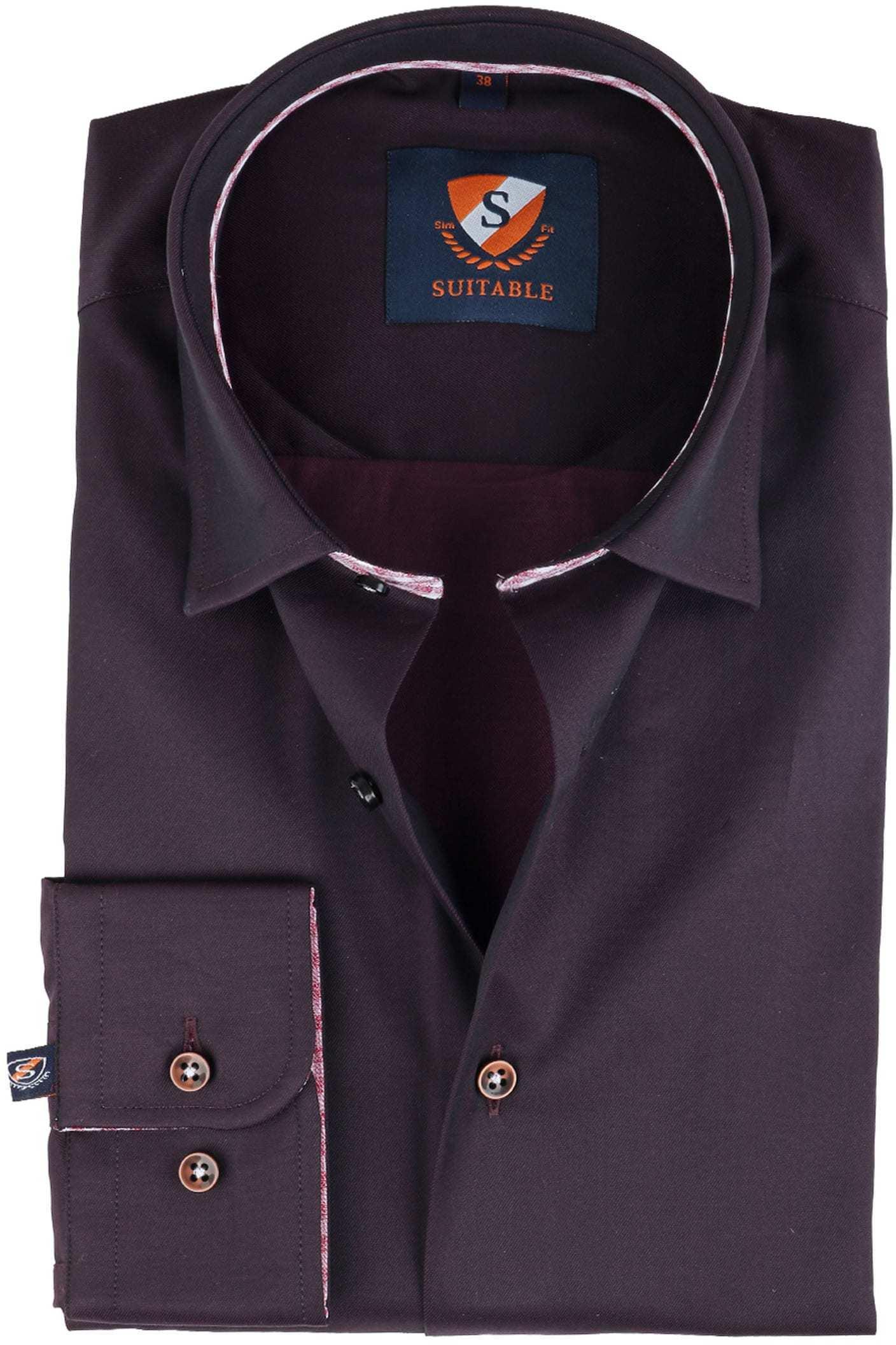 Suitable Overhemd Bruin foto 0