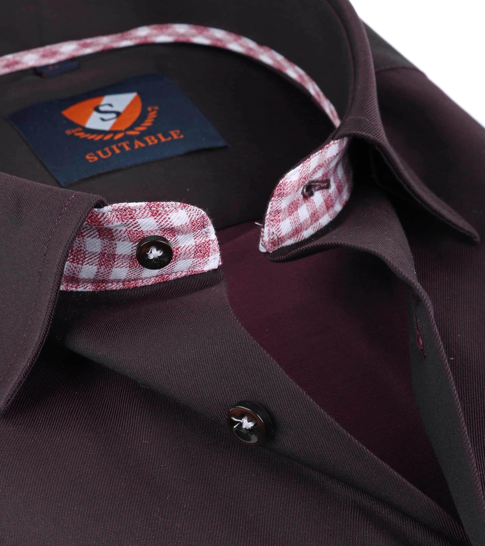 Suitable Overhemd Bruin foto 1