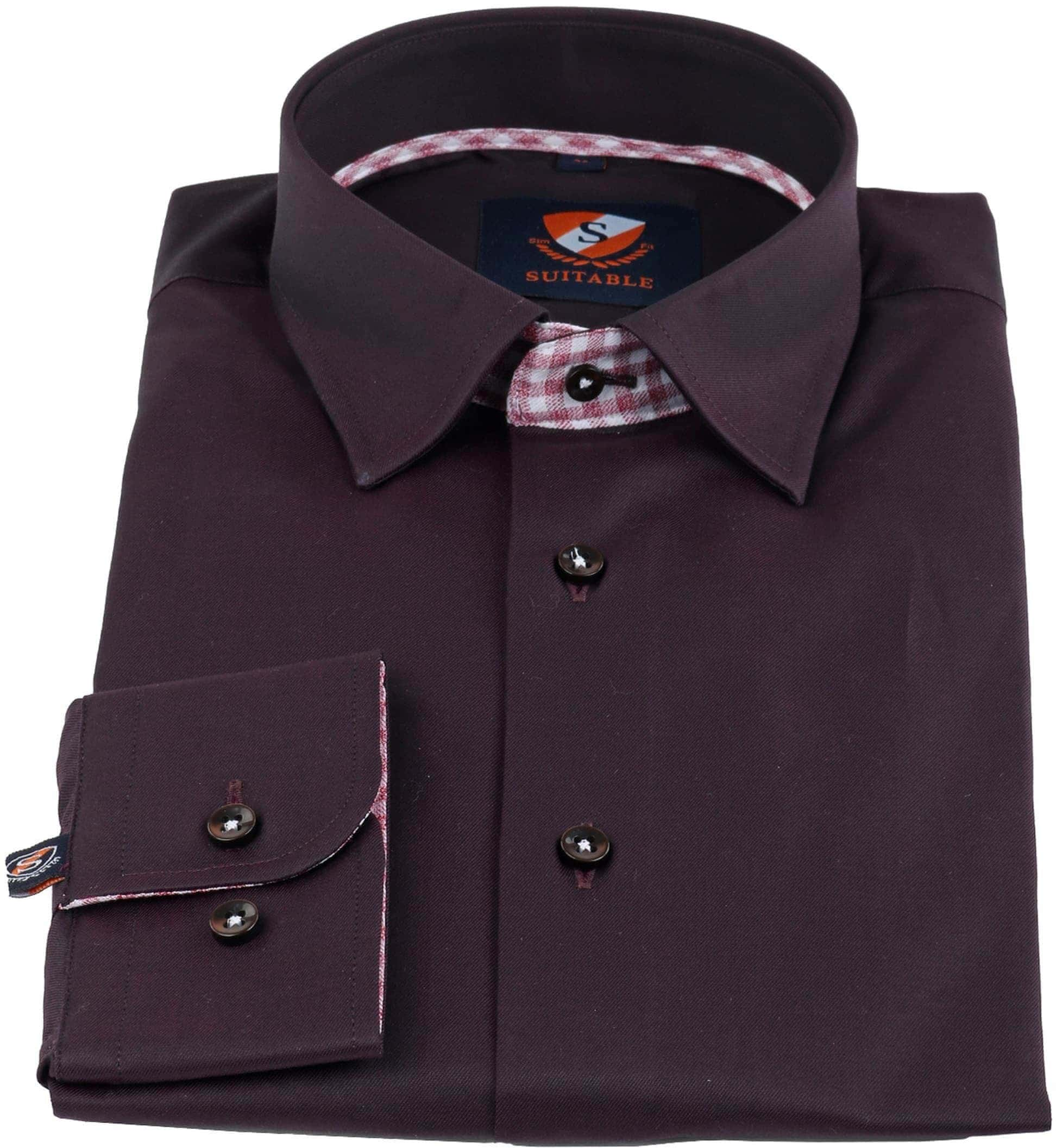 Suitable Overhemd Bruin foto 2