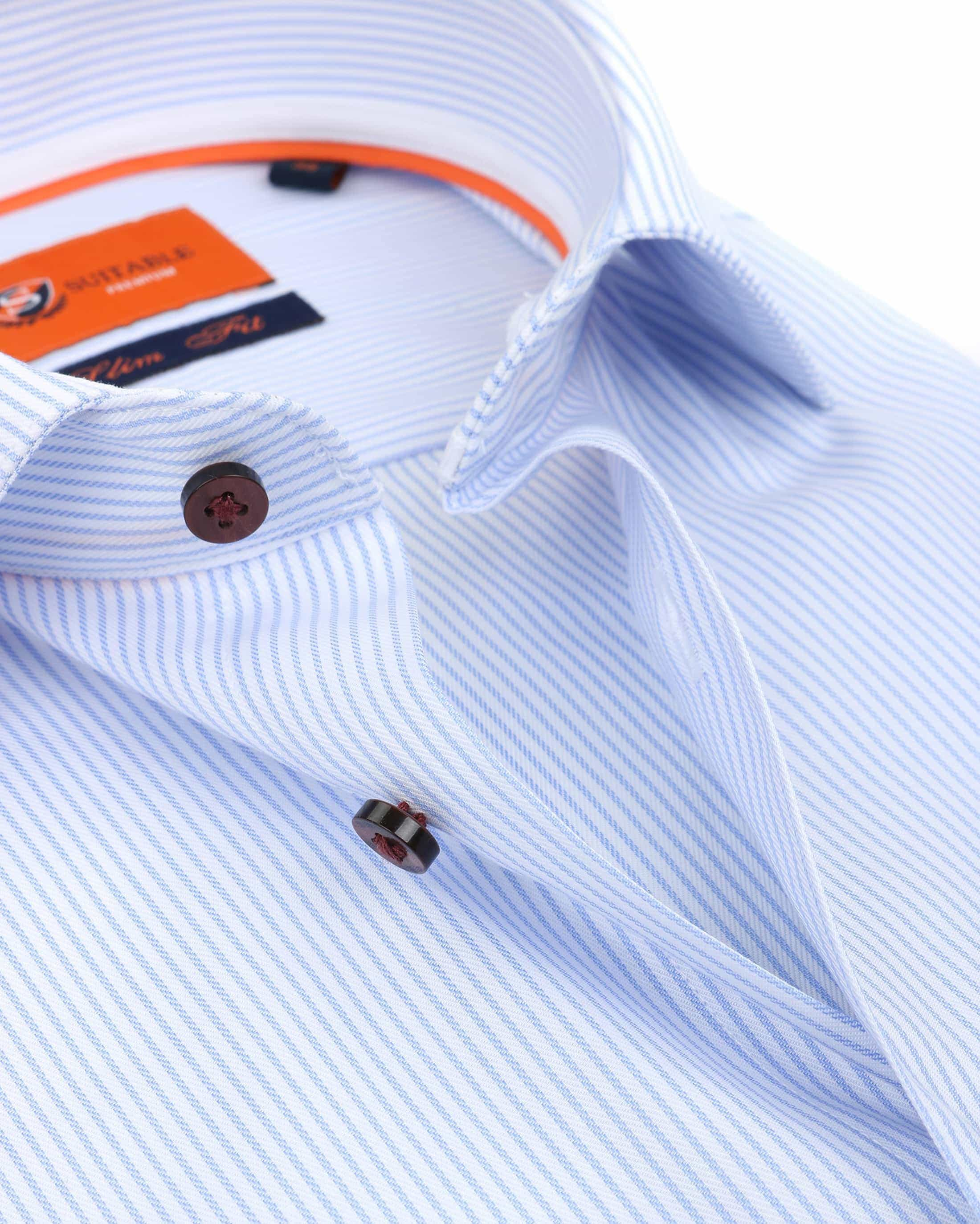 Suitable Overhemd Cotelet Blauw foto 2
