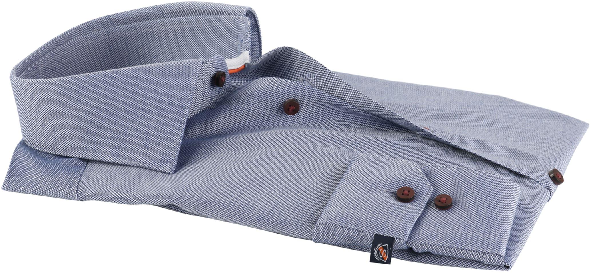 Suitable Overhemd Donkerblauw D72-04 foto 2