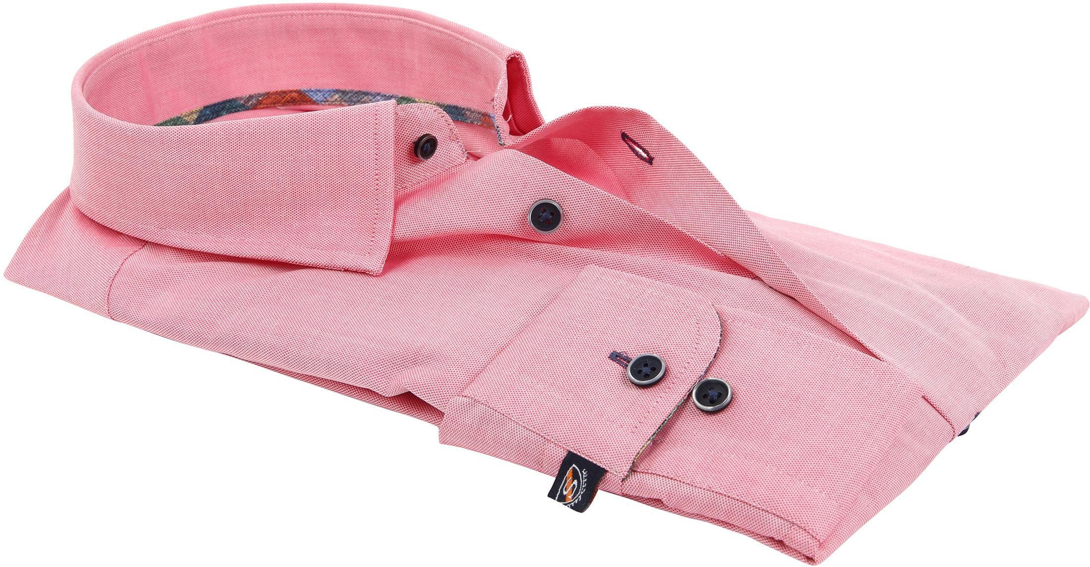 Suitable Overhemd Donkerroze 183-4 foto 3