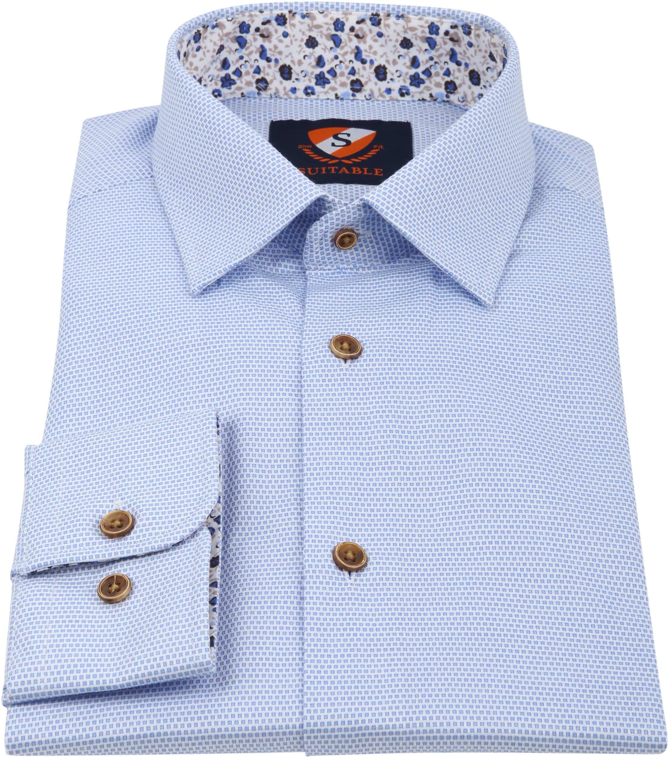 Suitable Overhemd HBD Lichtblauw Wesley foto 2