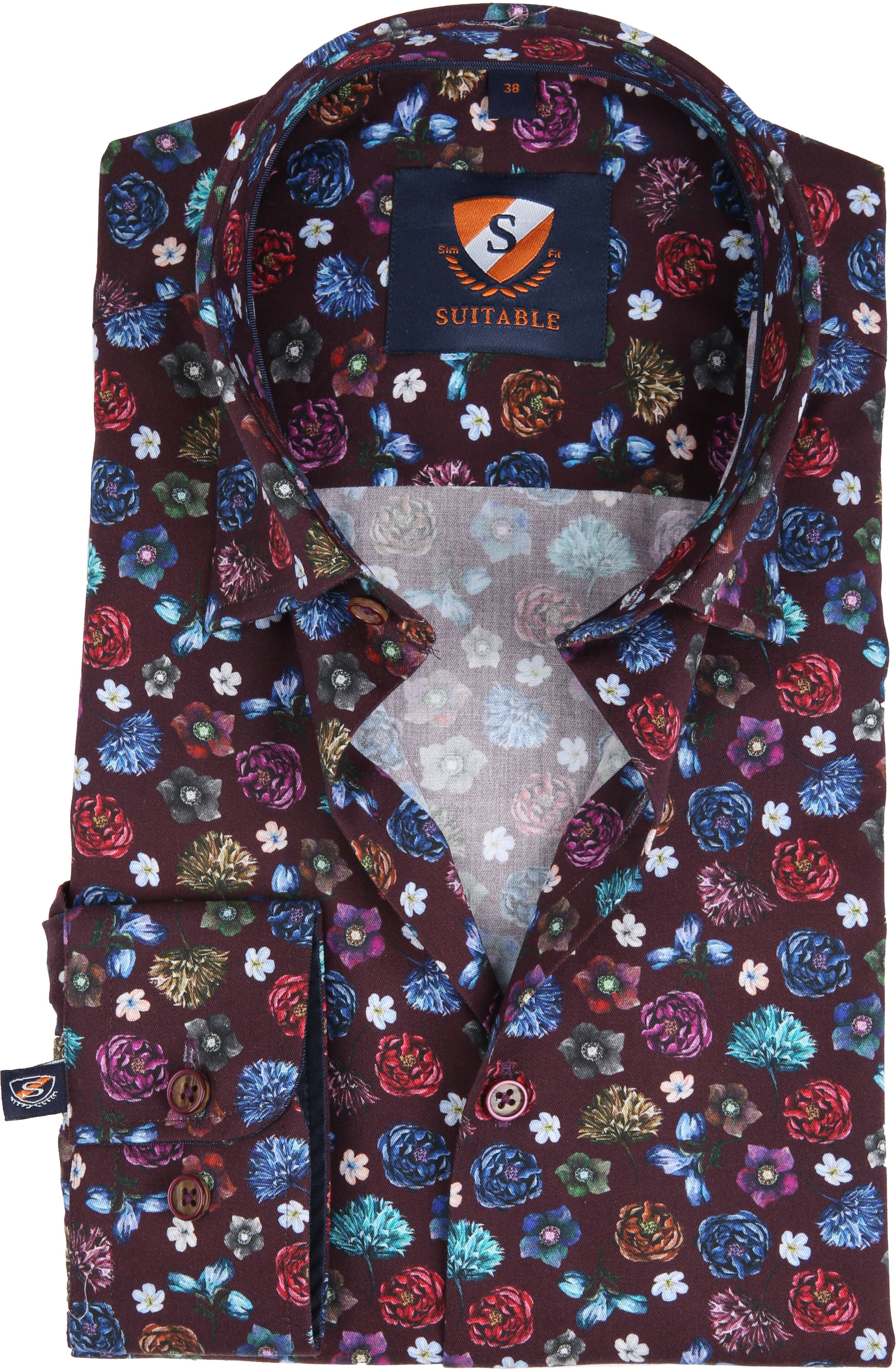 Suitable Overhemd HBD Smart Flower foto 0