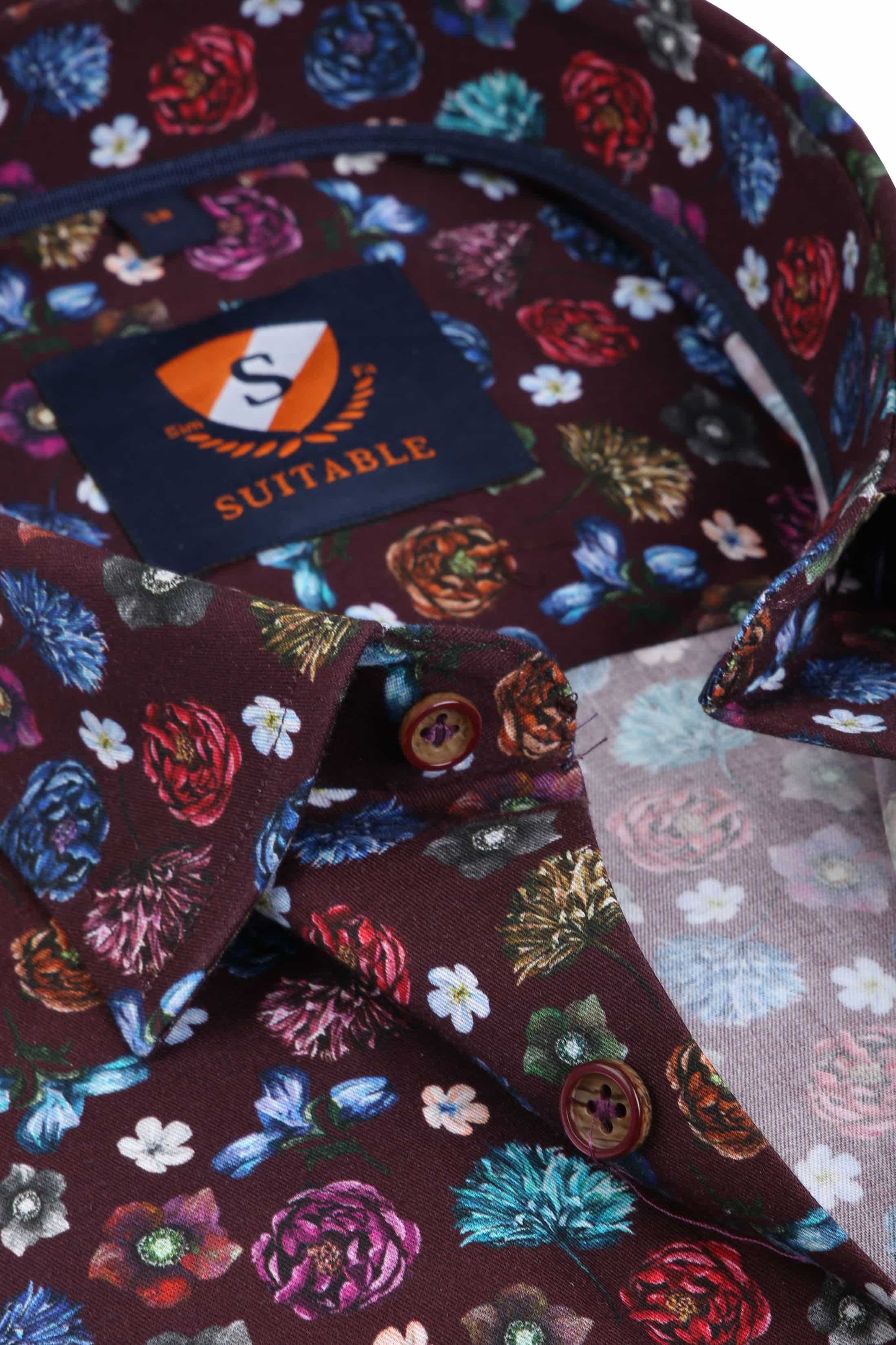 Suitable Overhemd HBD Smart Flower foto 1
