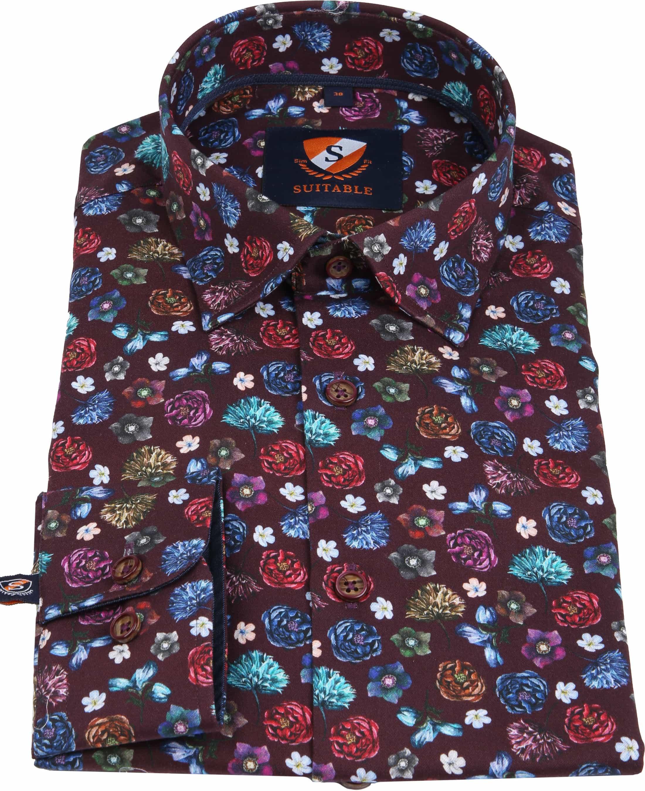 Suitable Overhemd HBD Smart Flower foto 3