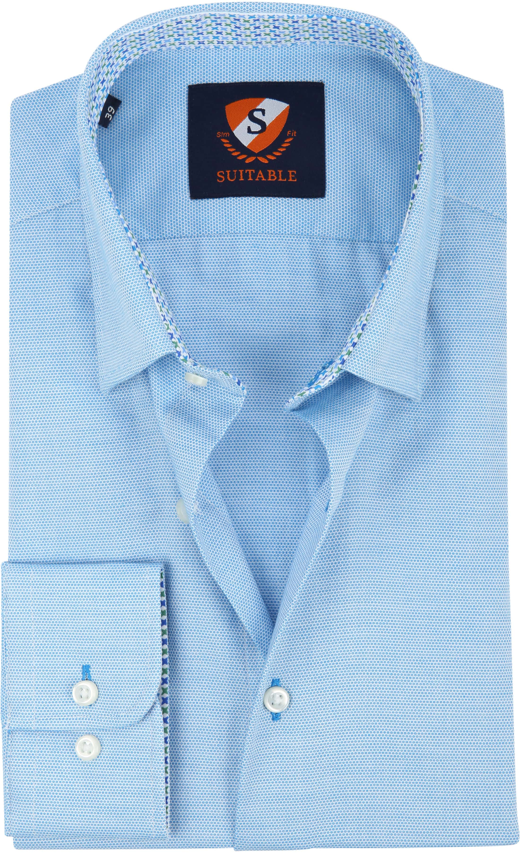 Suitable Overhemd HBD Wesley Lichtblauw foto 0