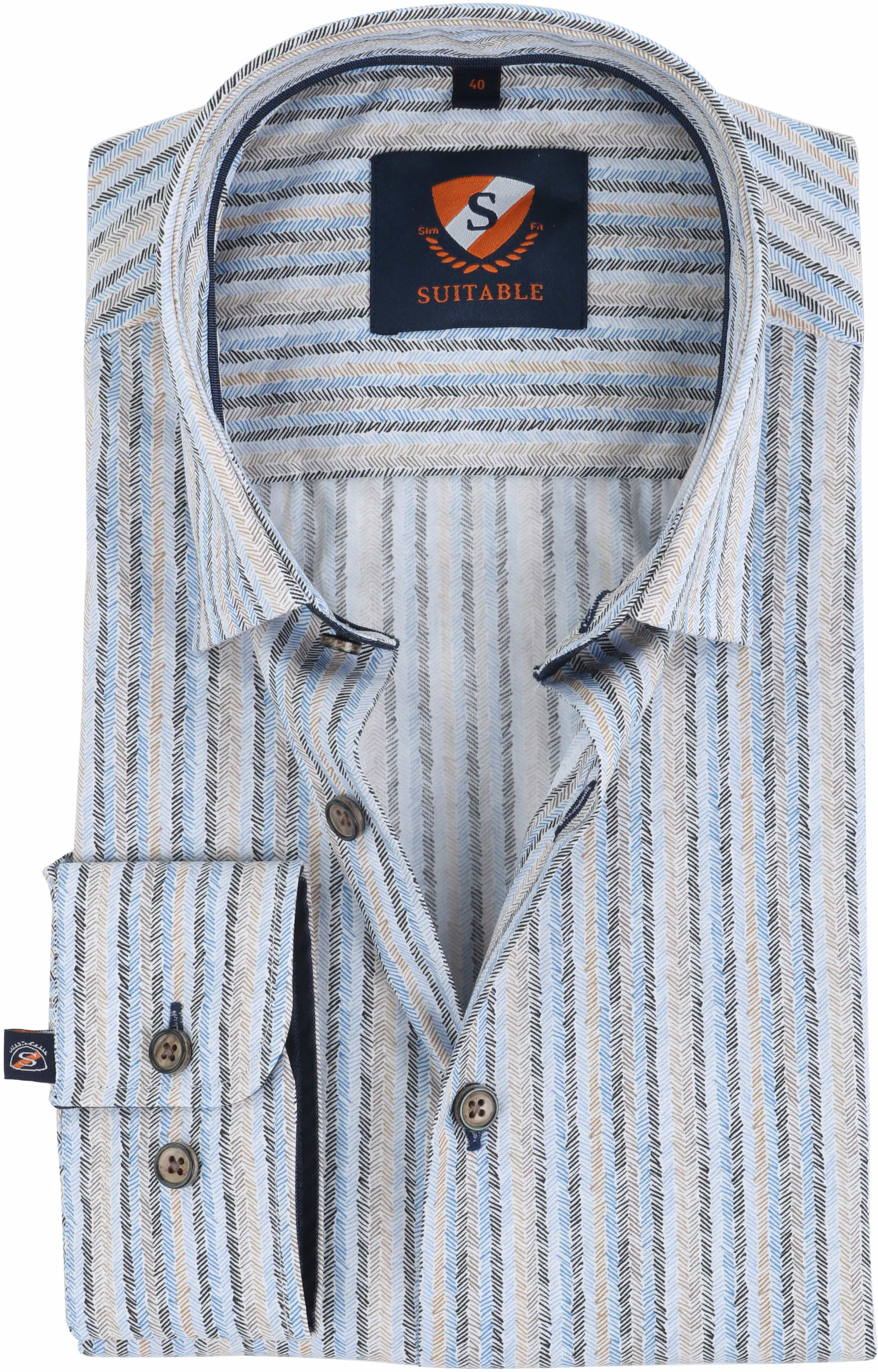 Suitable Overhemd Herring Print HBD foto 0